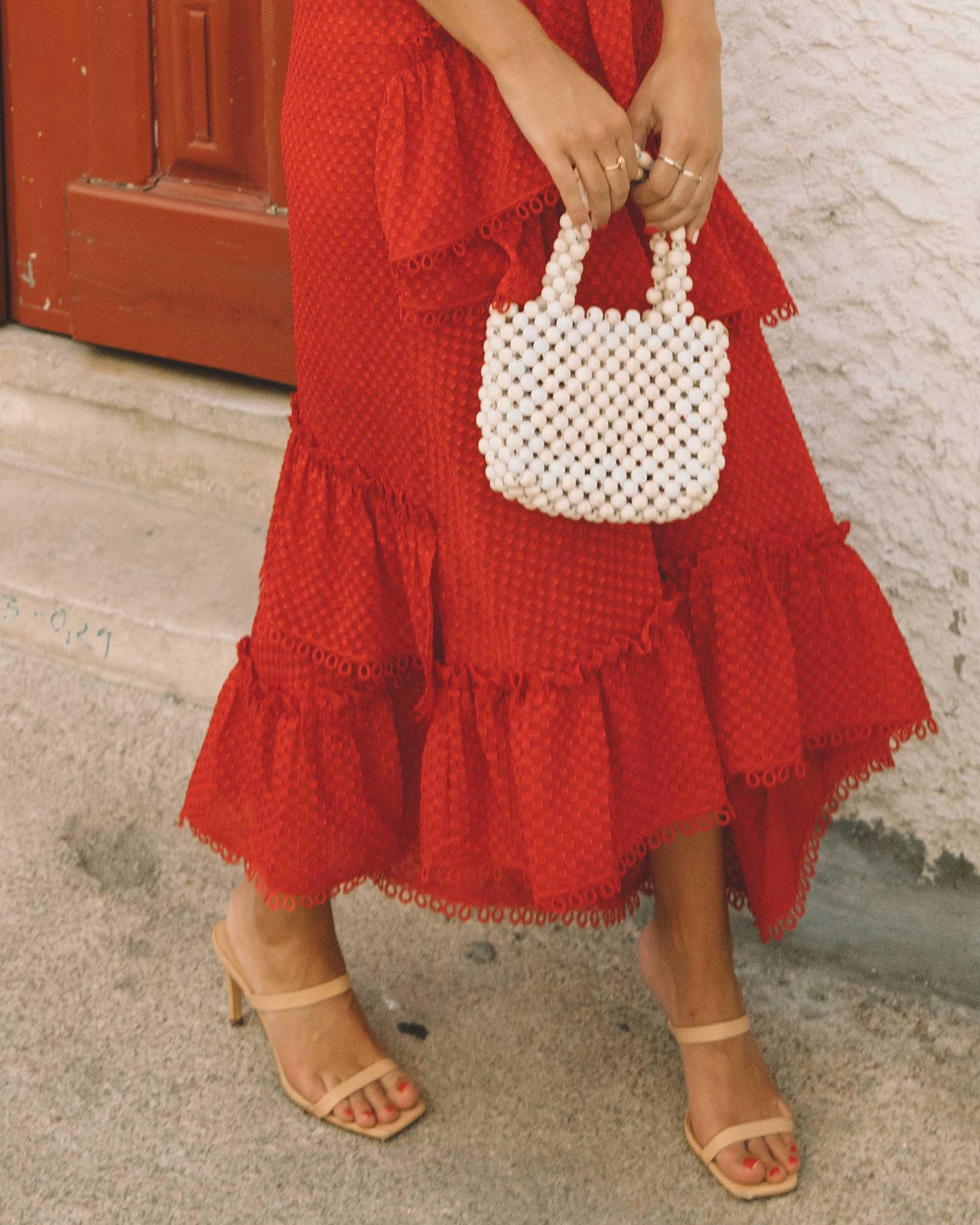 Sarah Butler of Sarah Styles Seattle wears THREE FLOOR Rouge tiered midi dress in Lisbon, Portugal | @sarahchristine 8.jpg