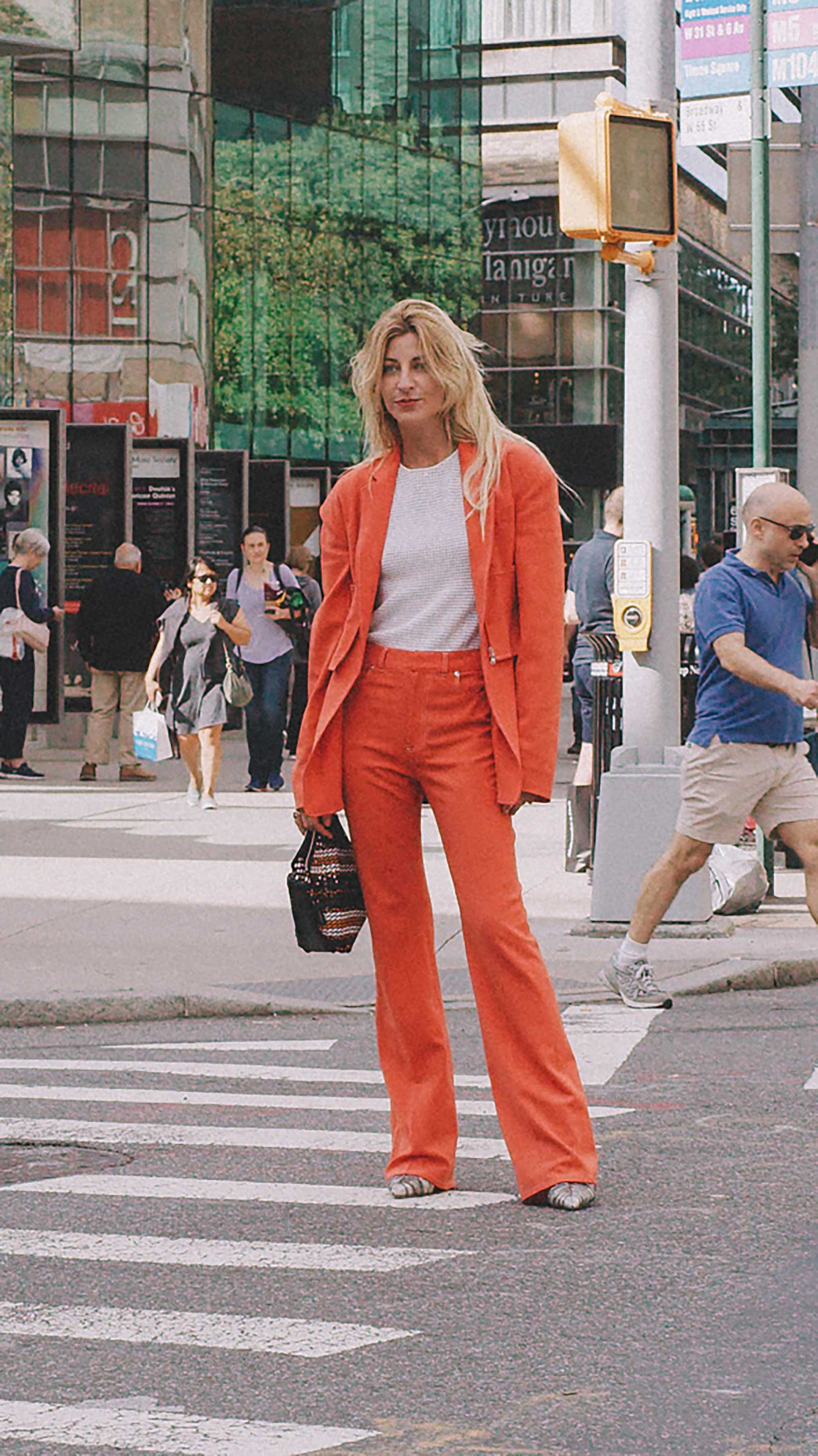 Best outfits of New York Fashion Week street style 2019 Day One Photo by @J2martinez Jose J. Martinez www.jmrtnz.com -126.jpg
