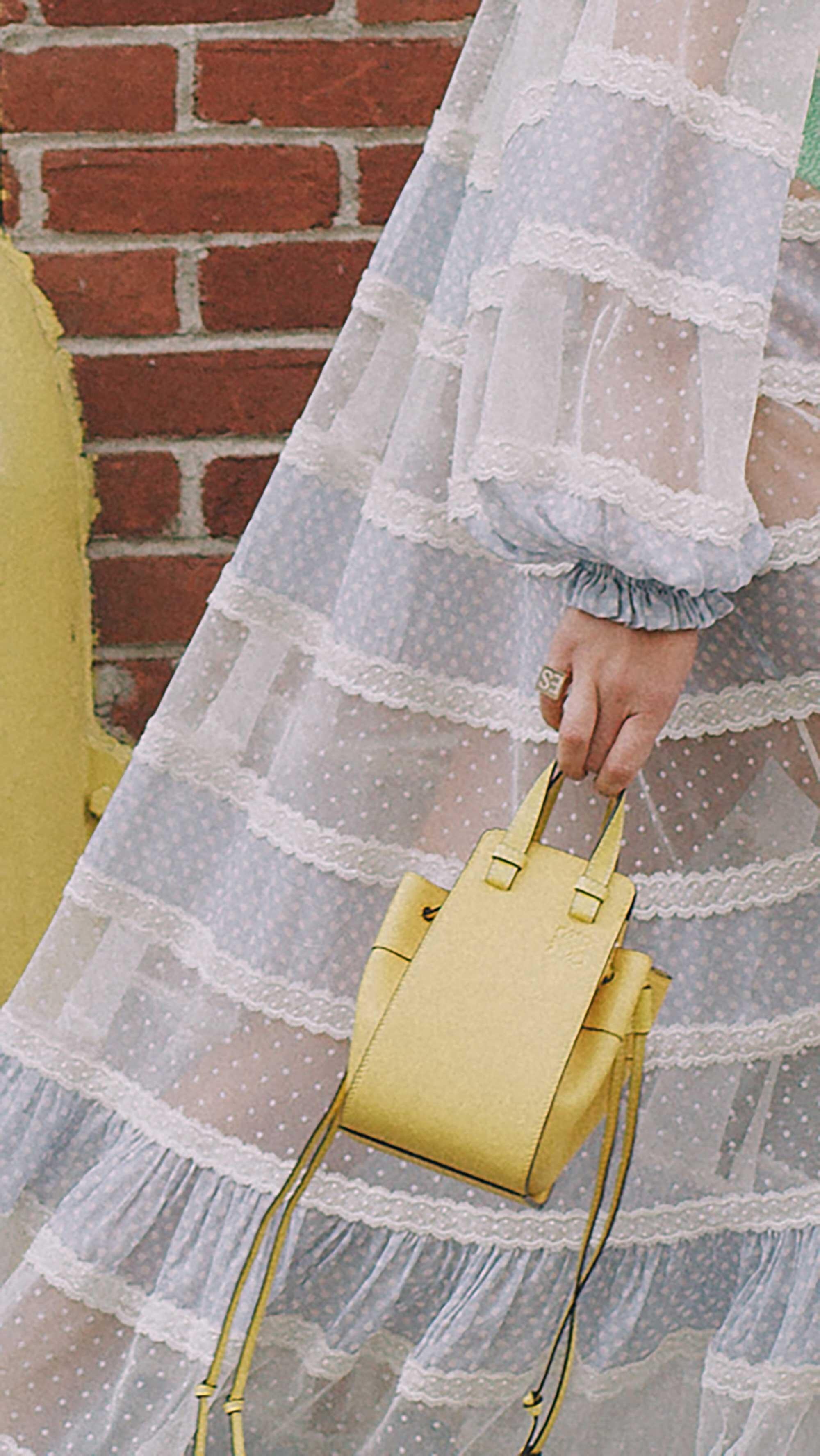 12. Loewe - Small Hammock shoulder bag