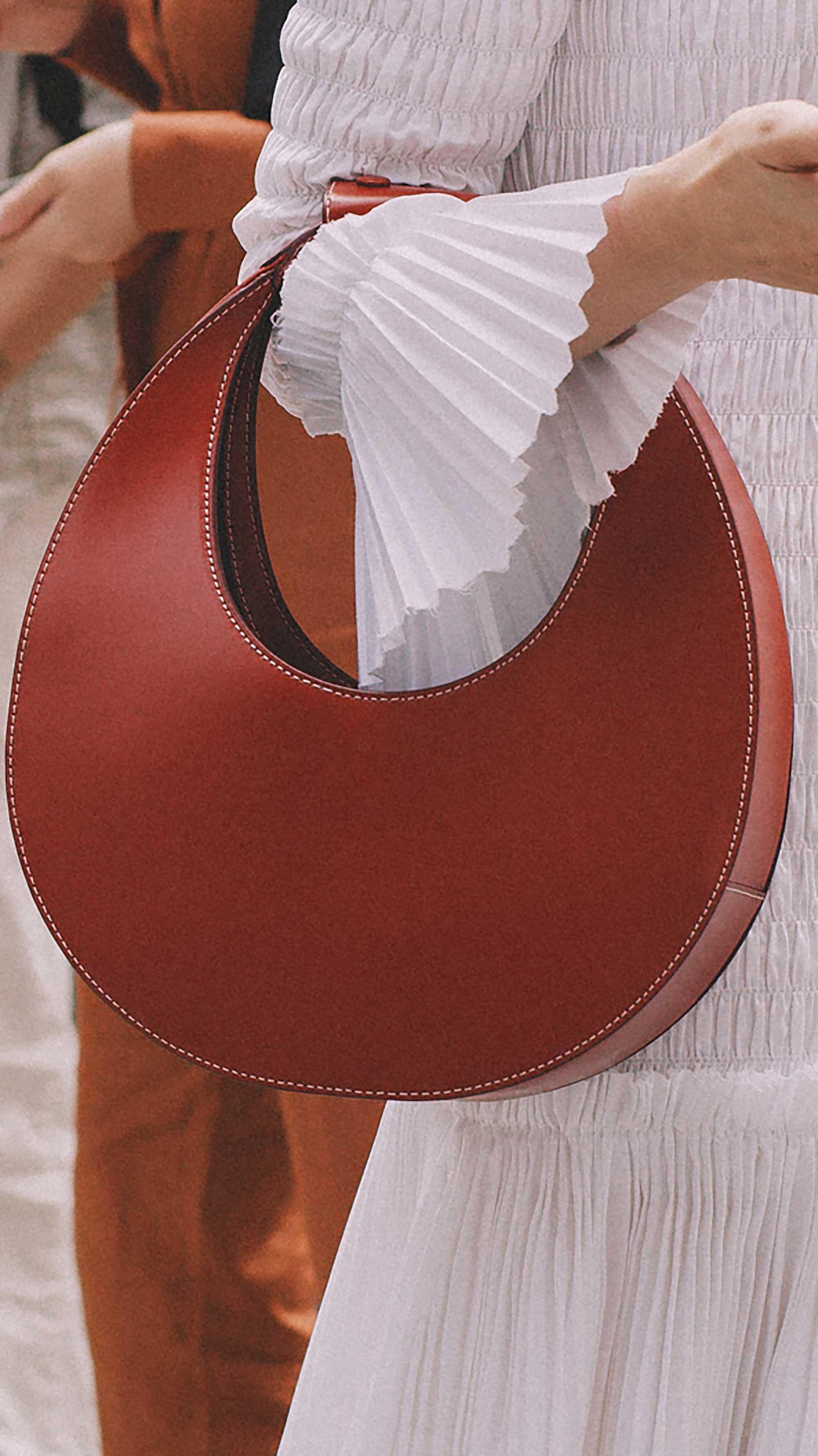 2. STAUD - Moon leather tote