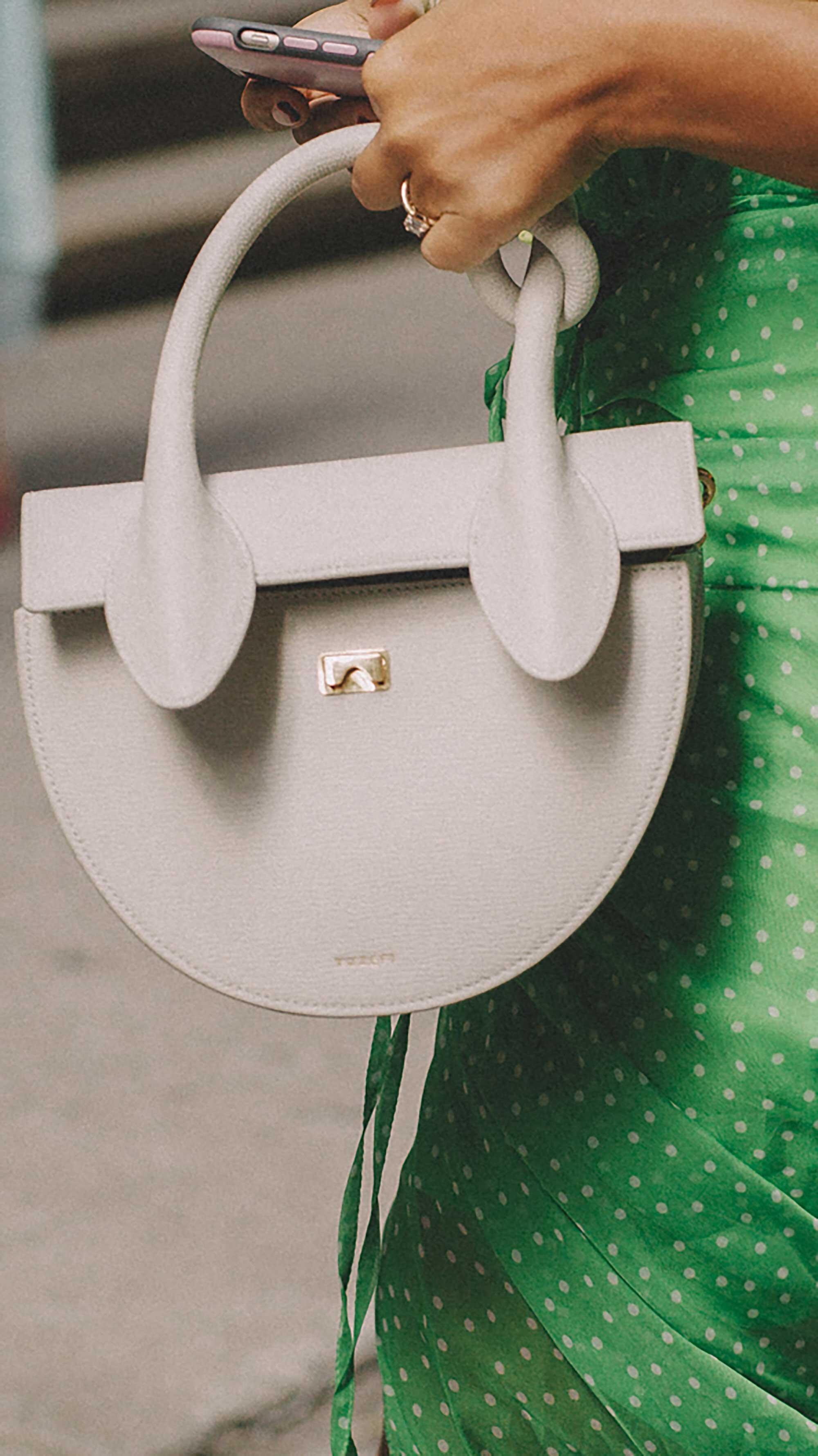 11. Yuzefi - Dolores knot shoulder bag