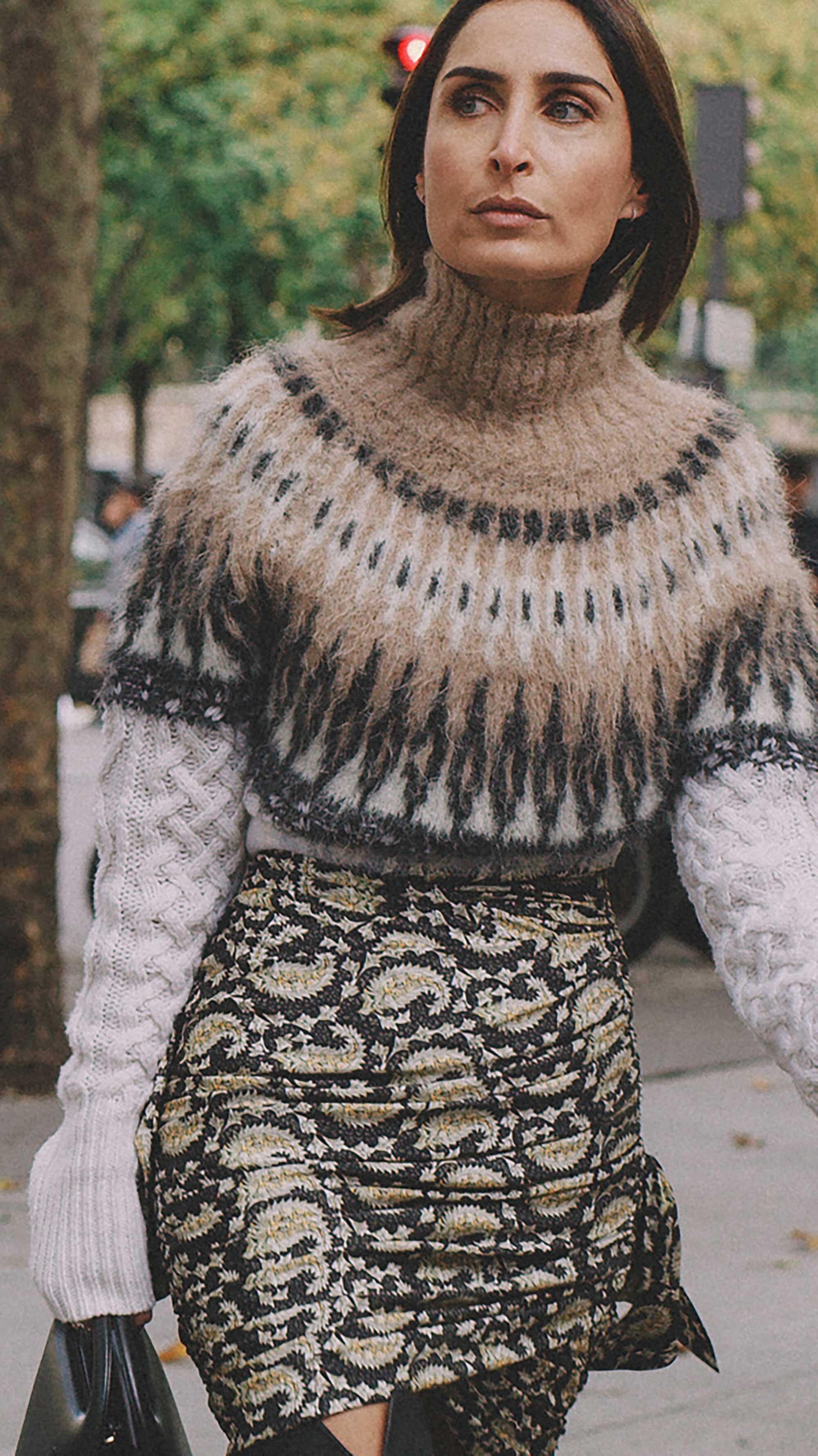 2. Altuzarra - Parvati Fair Isle and cable-knit wool-blend sweater