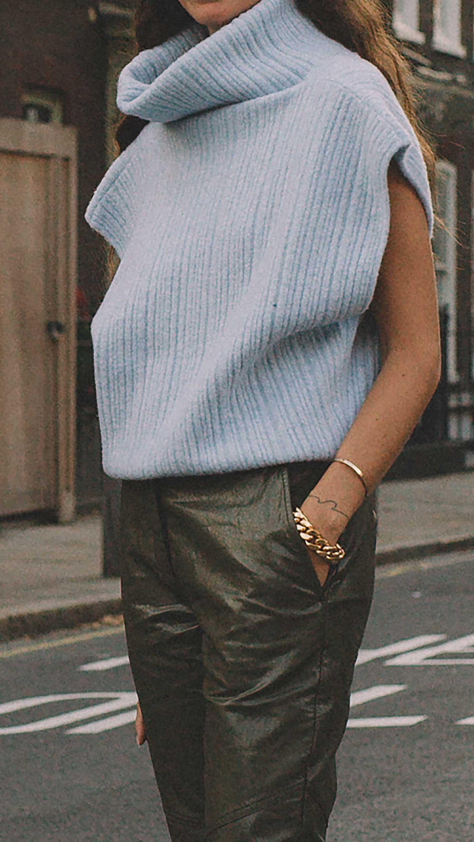 12. Jacquemus - Cutout ribbed wool-blend top
