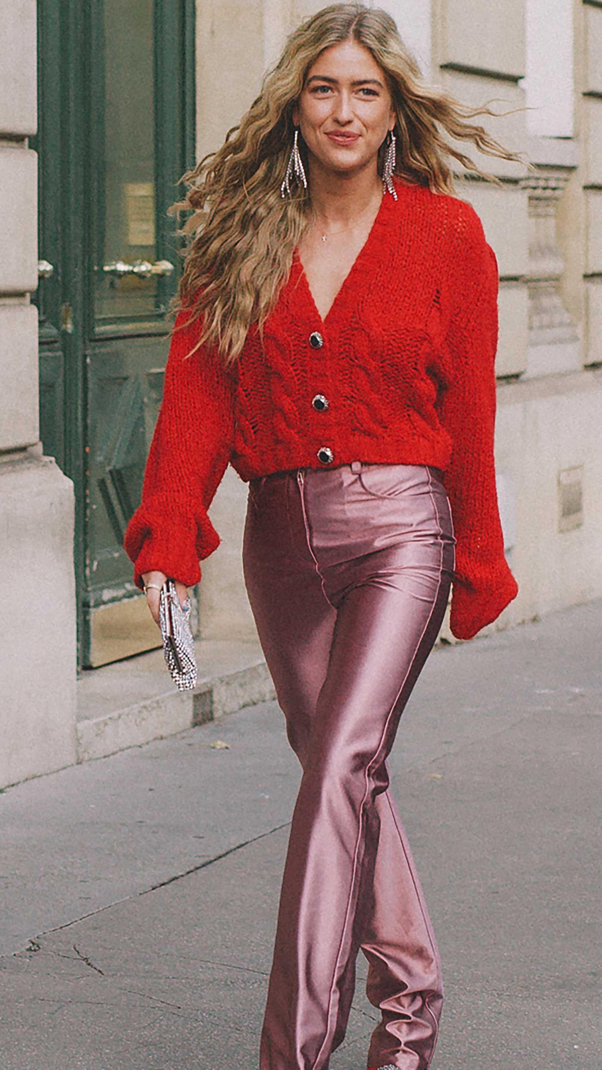 14. Alessandra Rich - Cropped knit cardigan