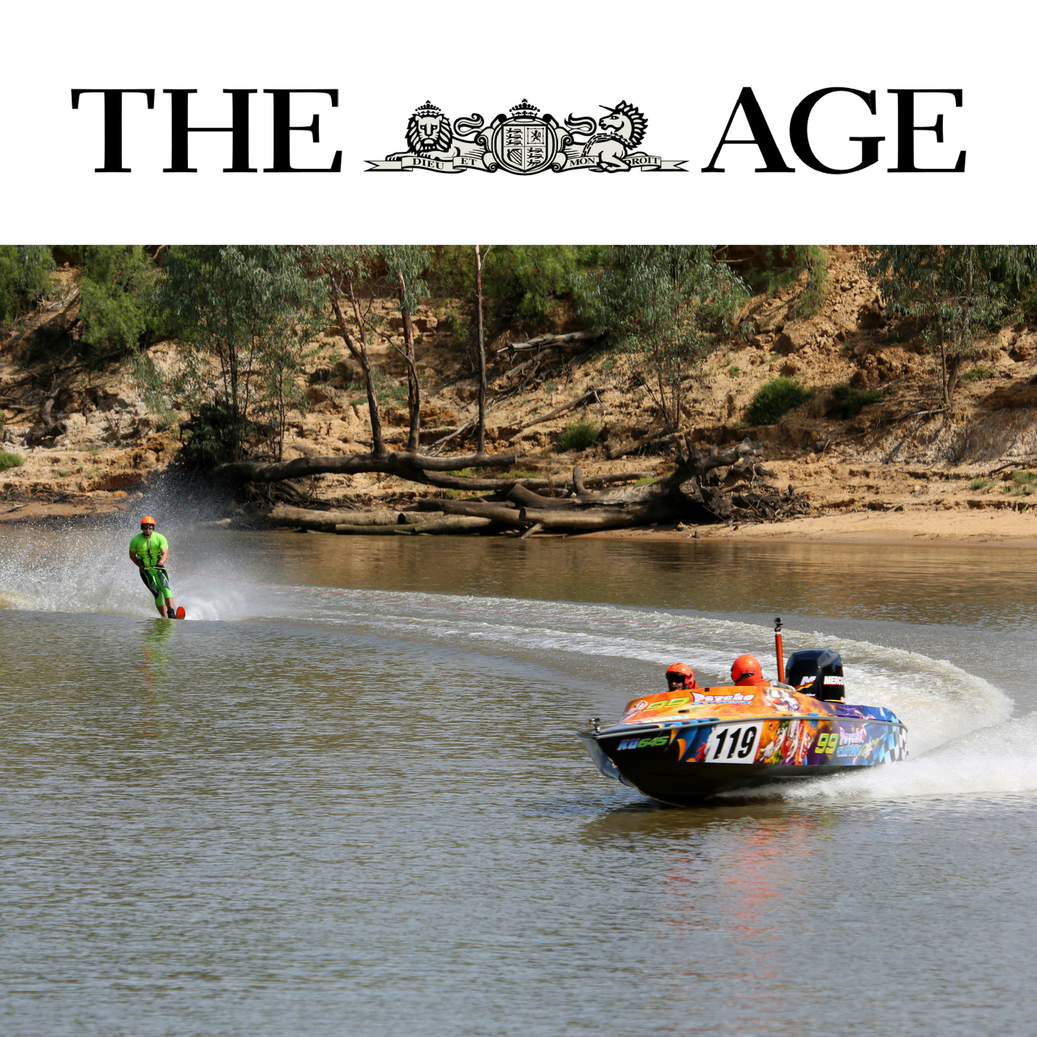 BLIND WATER SKIIER TO RE-WRITE SOUTHERN 80 HISTORY - BY TIM DOUTRE