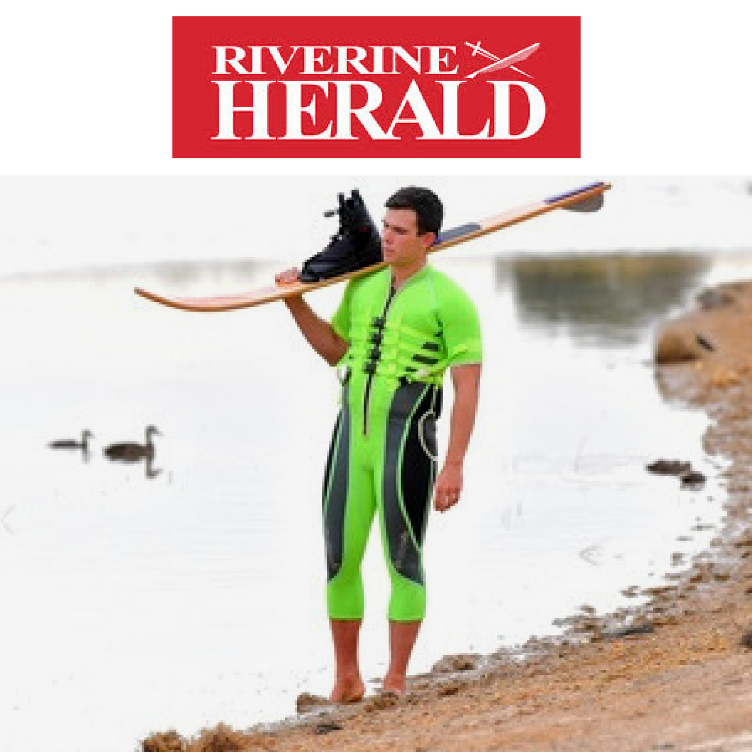 BLIND SKIERS DEBUT MAKES HIM A STAR OF THE SOUTHERN 80 - BY RIVERINE HERALD