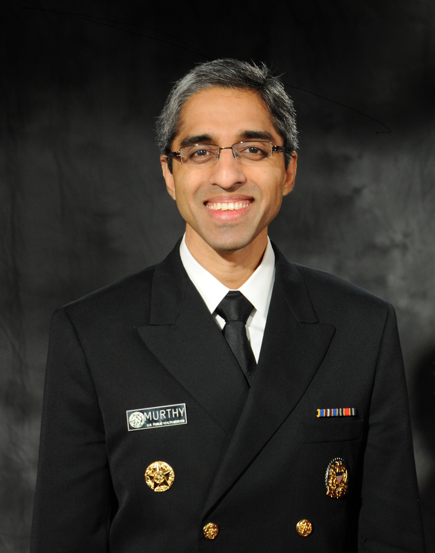 Vice Admiral Vivek H Murthy, MD, MBA