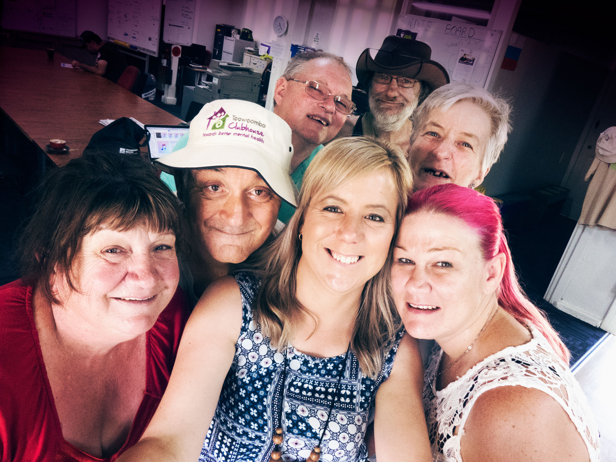 "Be part of a thriving community hub - ""Toowoomba Clubhouse has a great atmosphere – it's warm and friendly and staff bend over backwards to help you. I've made friends at Clubhouse and feel really comfortable joining in all the activities."""
