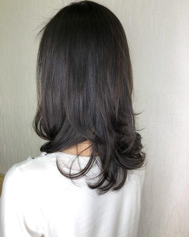 Natural perm style .  #hair#perm#digitalperm#singapore#sghair#sghairstylist#sgmodel#sgblog#sgblogger #hairperm#permhair#naturalperm