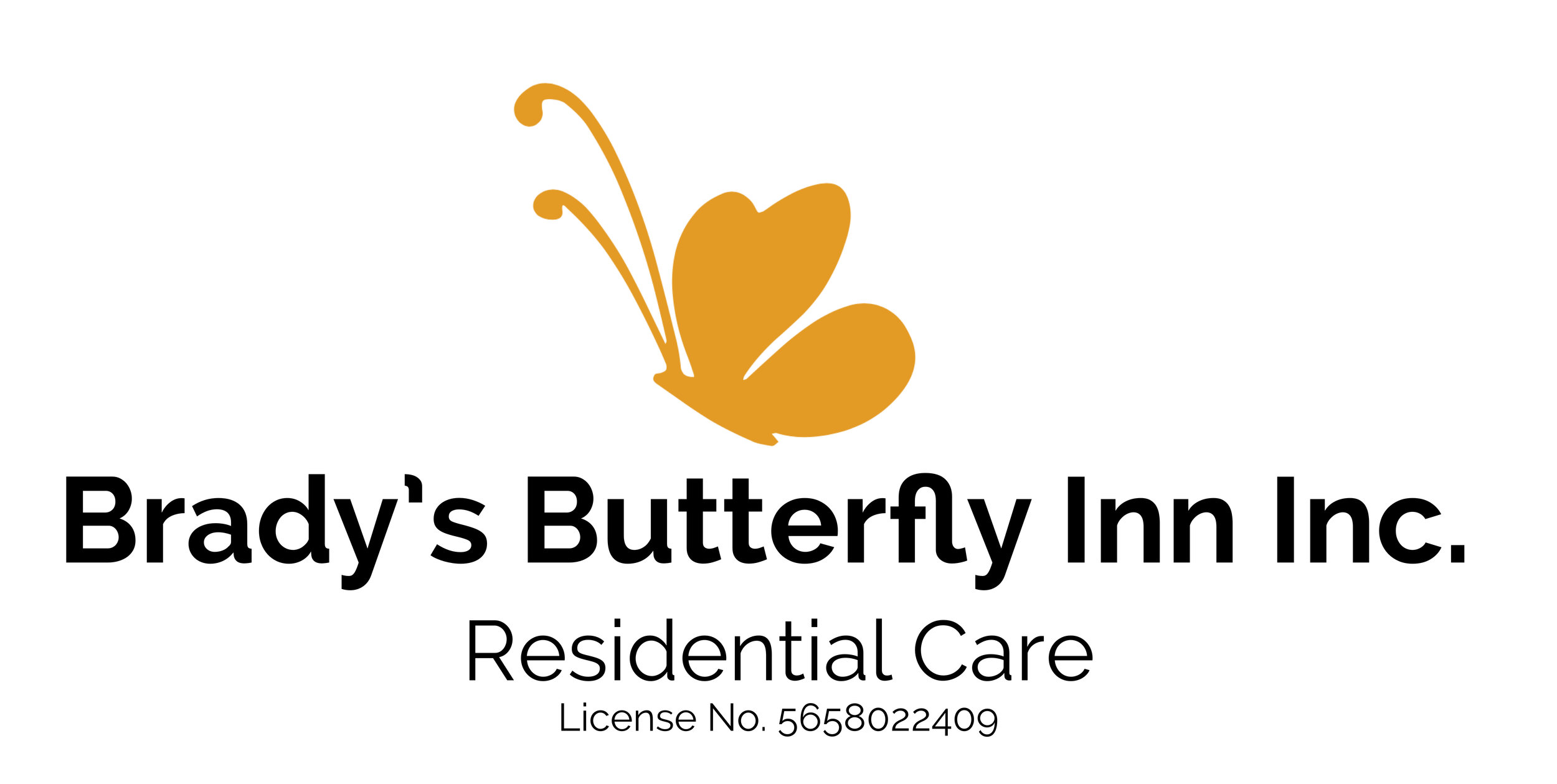 is now   The Butterfly Inn, LLC    License No. 56769911