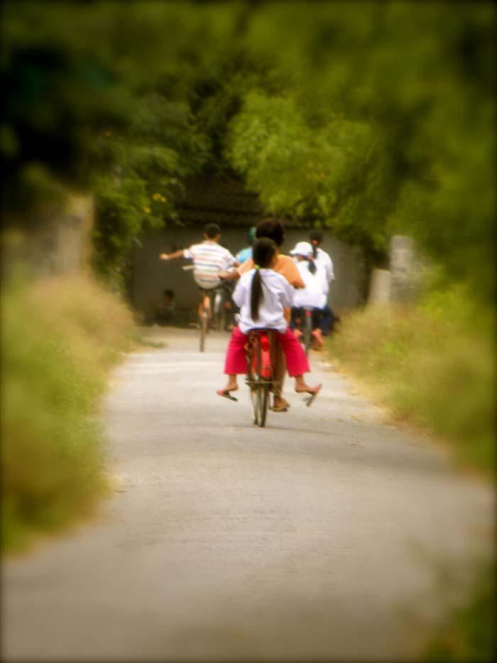 Learning to ride in Ninh Binh