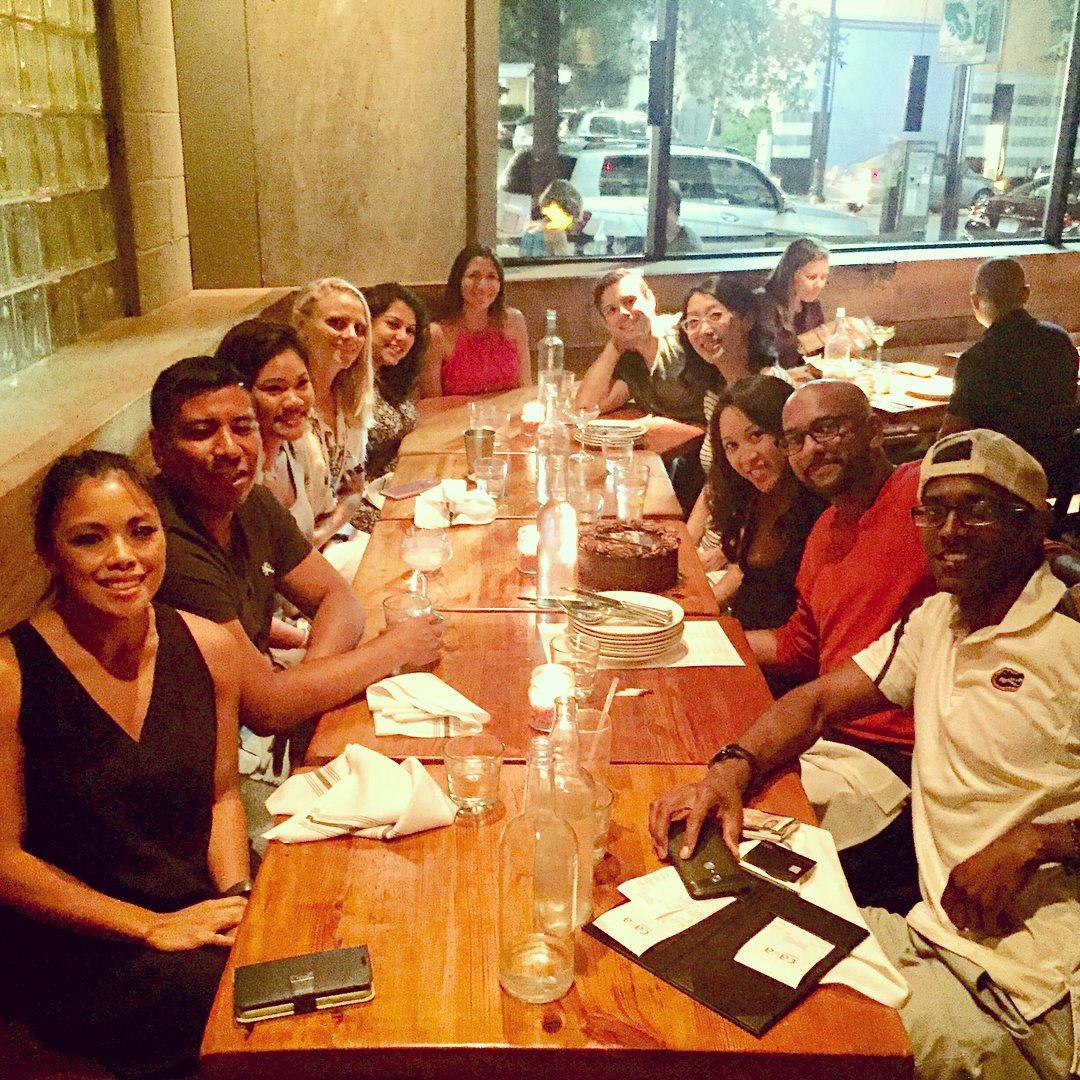 Shauna's Birthday at Cava Mezze Grill