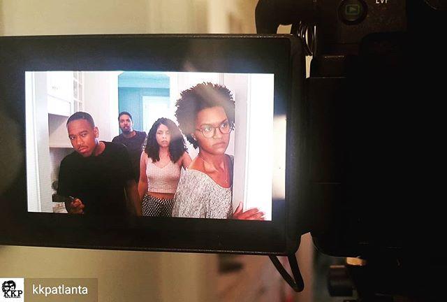 Back at it again with these fine people. This shoot was a blast and a half. @kkpatlanta = da💣 . . . 📽@kkpatlanta  @k_dawk123 @baleighjordan @jamesthomas889 . . . #atlactress #atlmodel #modelstellstories #naturalhairactress #atlfilmmaking #atlfilms #atlcinematography #atlproducers #atlproduction #kkpproductions #womeninfilm #woc #blackpeoplekillingthegame #blackgold #creatives #createyourown #tellstories #makeyourownway