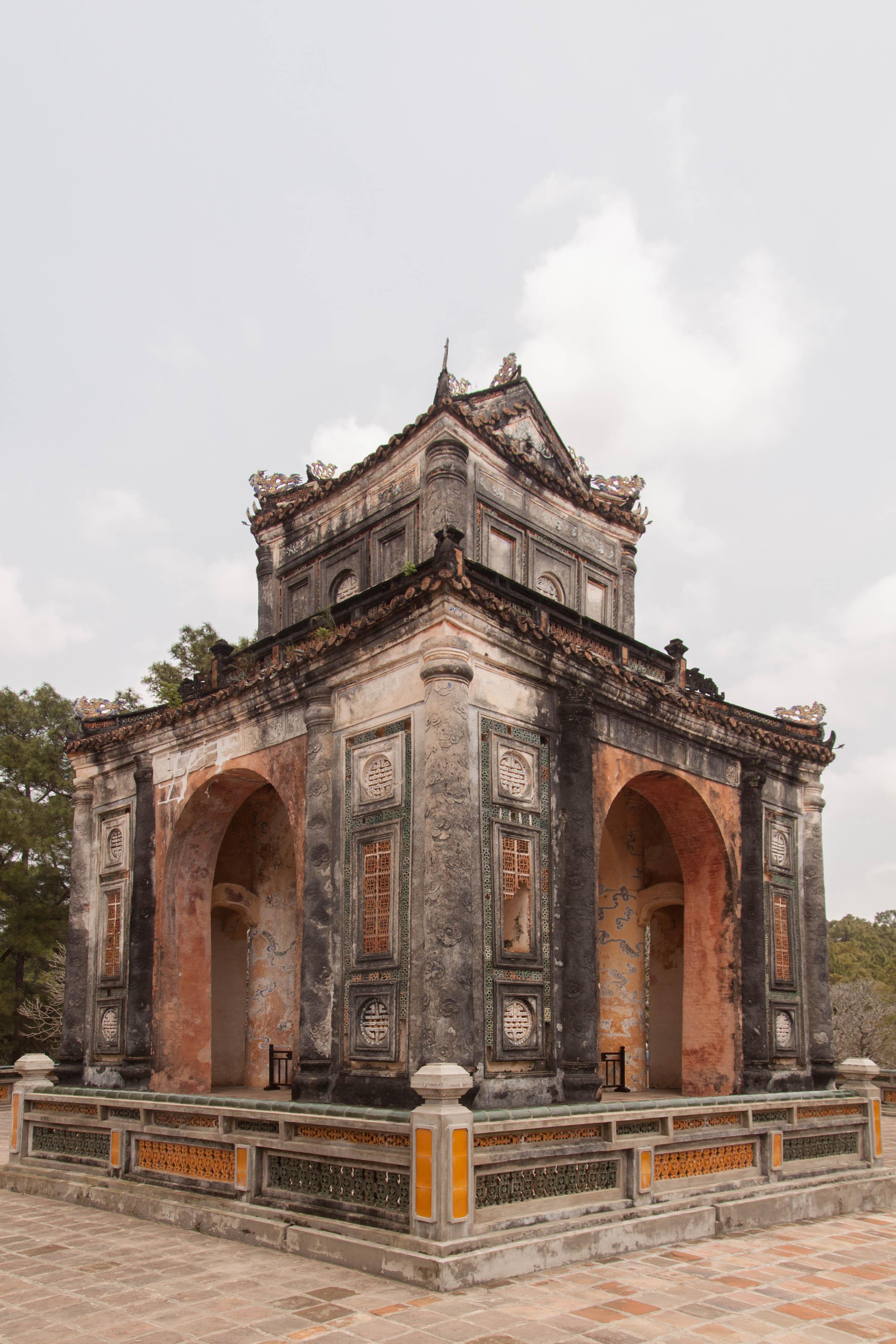 stele pavilion - hue, vietnam