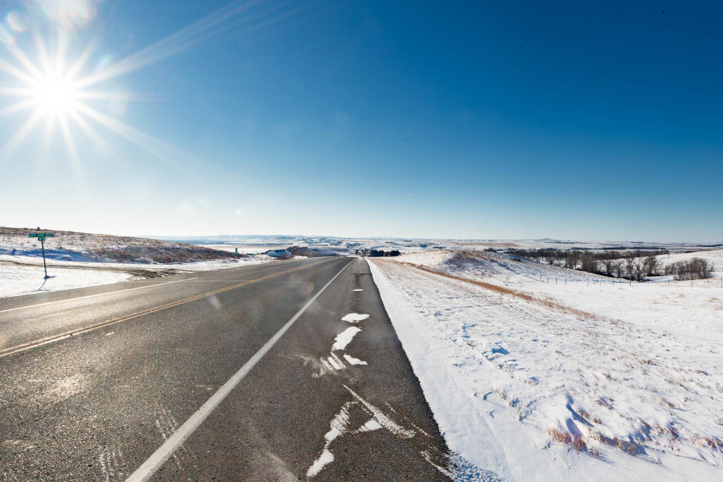 february 10, 2018  highway 1806 - mandan, north dakota