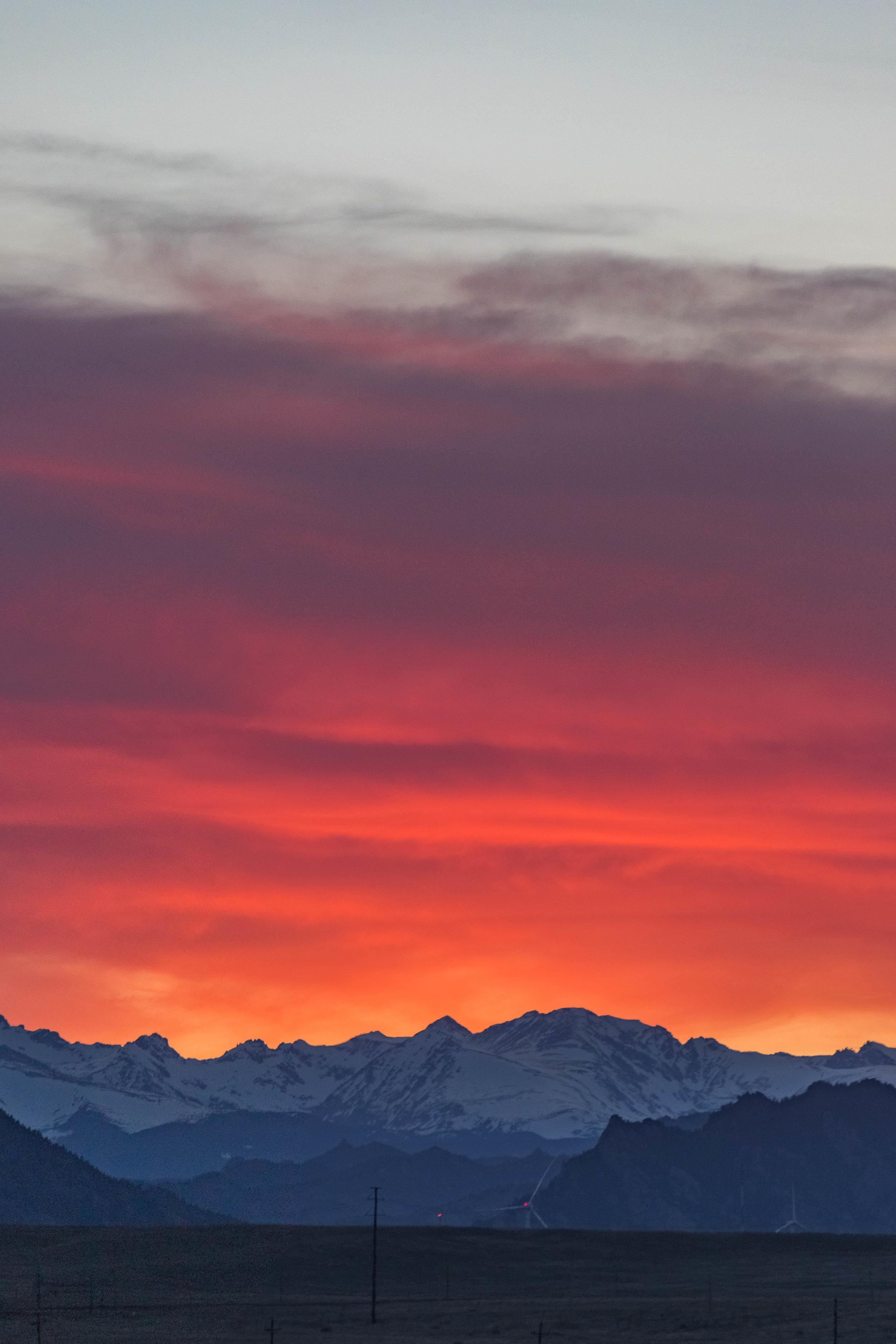 april 27, 2018  rocky mountains - westminster, colorado