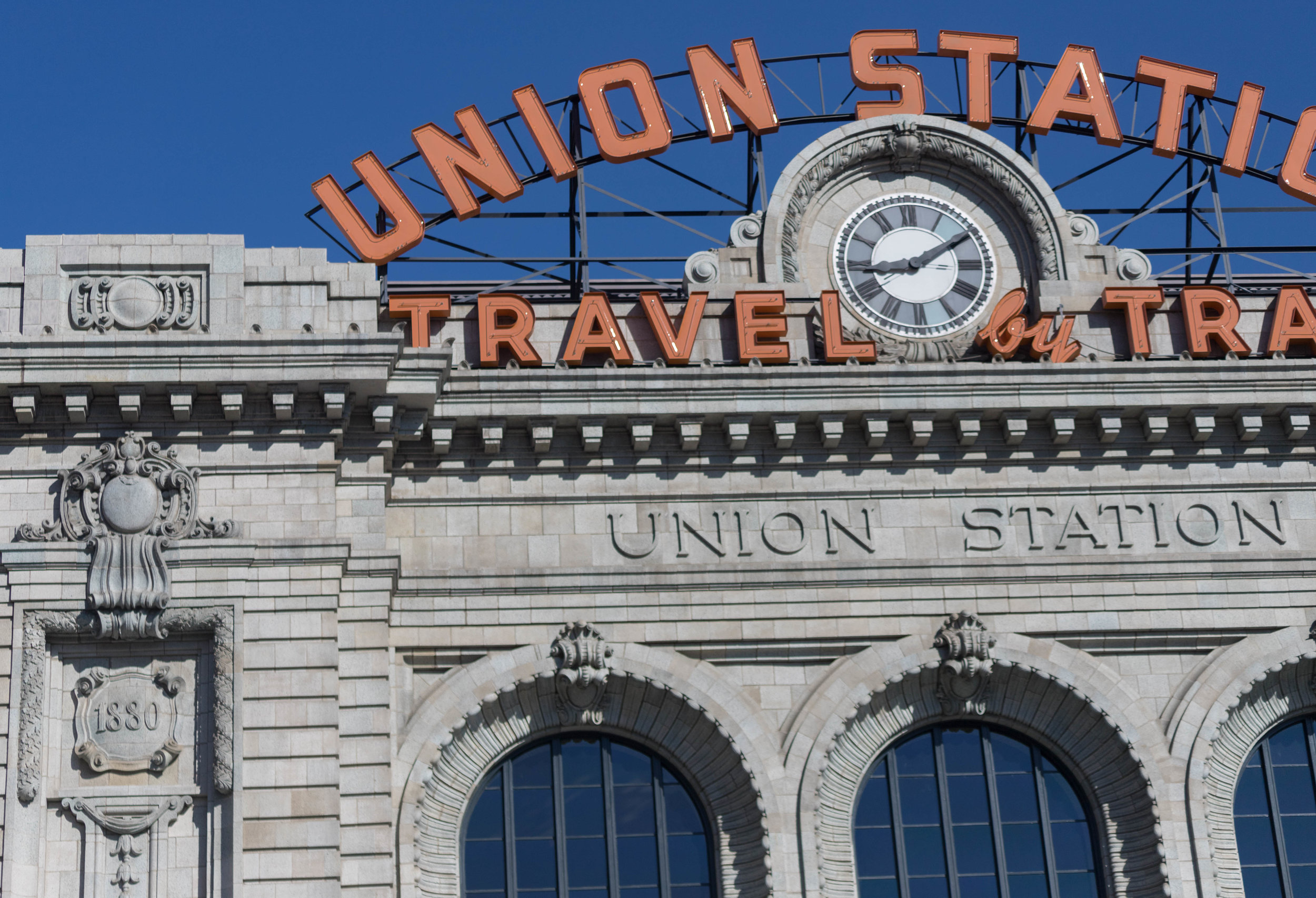 travel by train - denver, colorado   from US$15