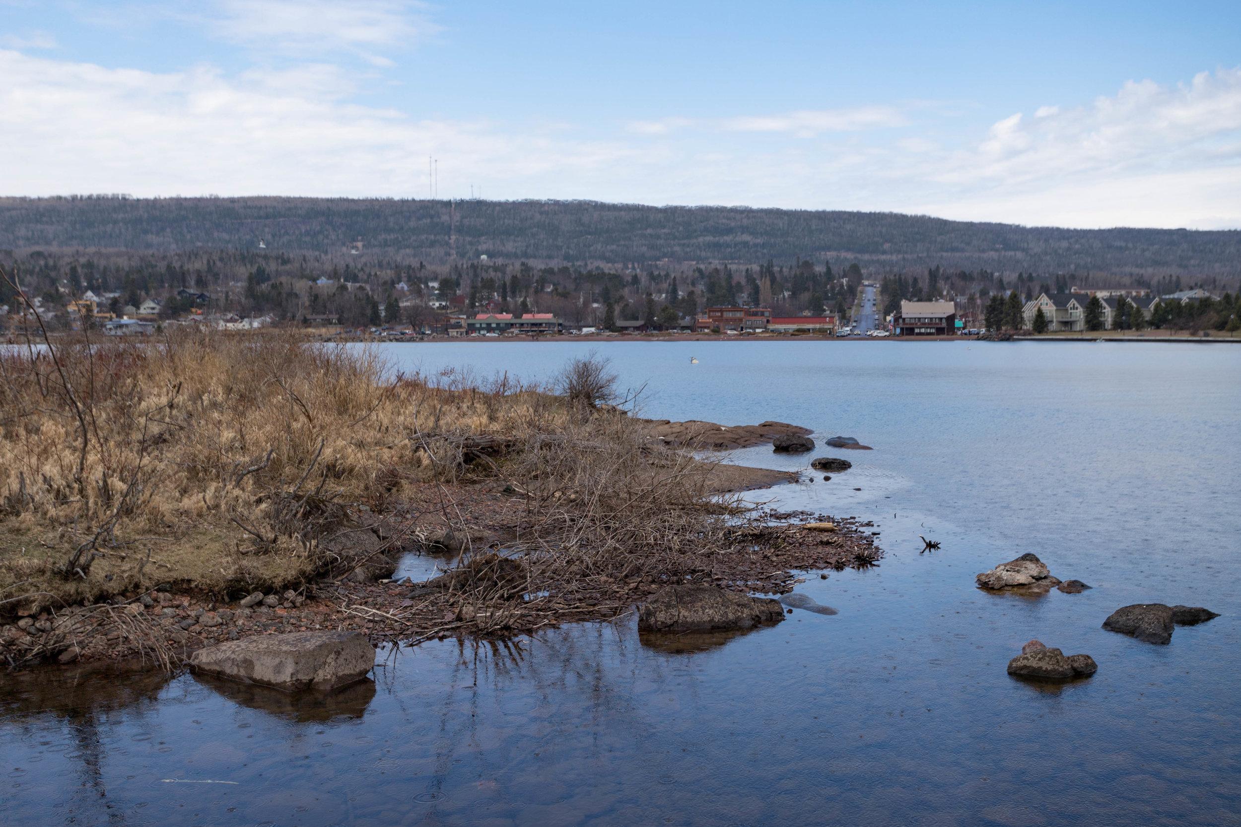 may 18, 2018  lake superior - grand marais, minnesota