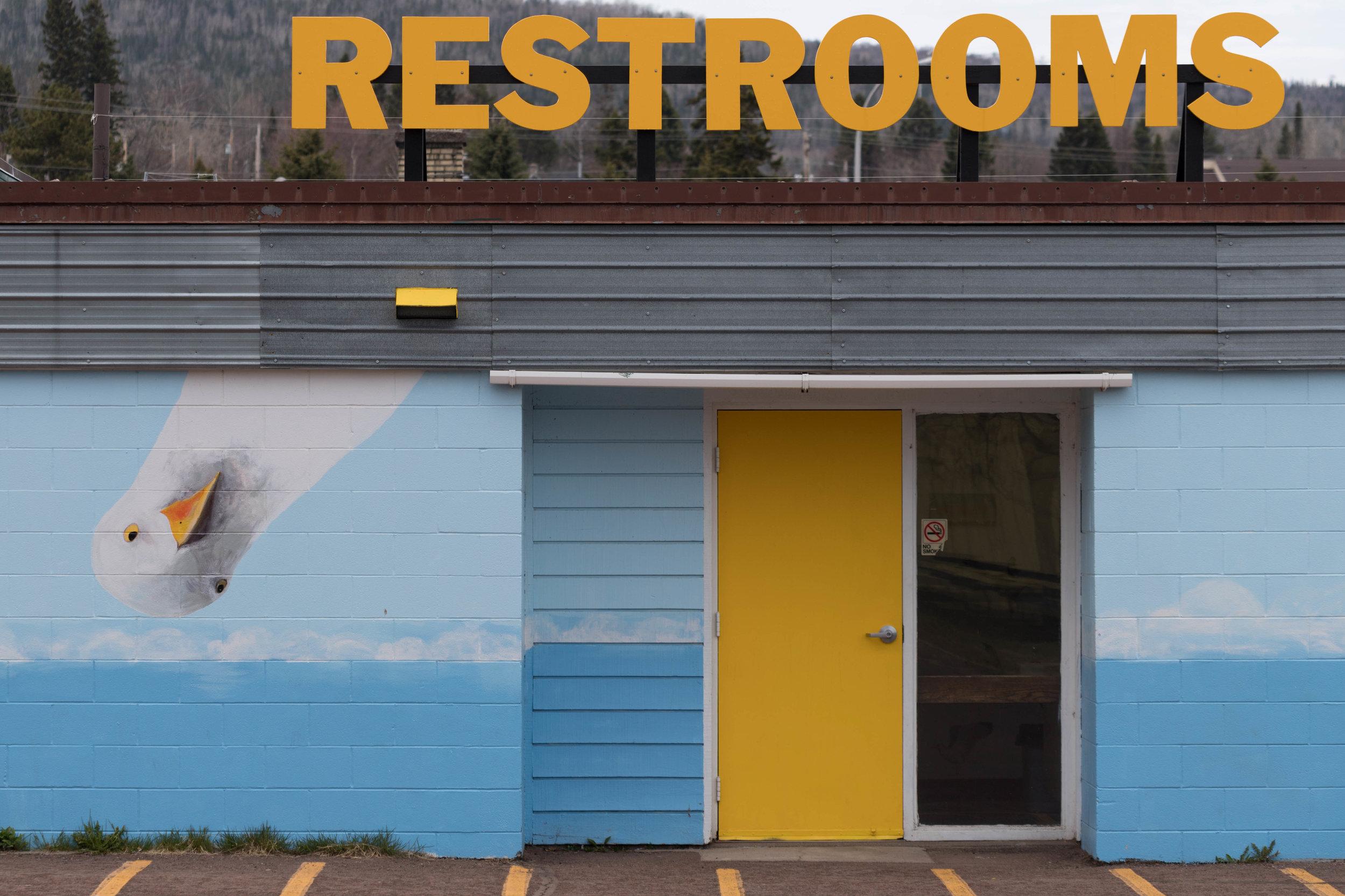 may 19, 2018  restrooms - grand marais, minnesota