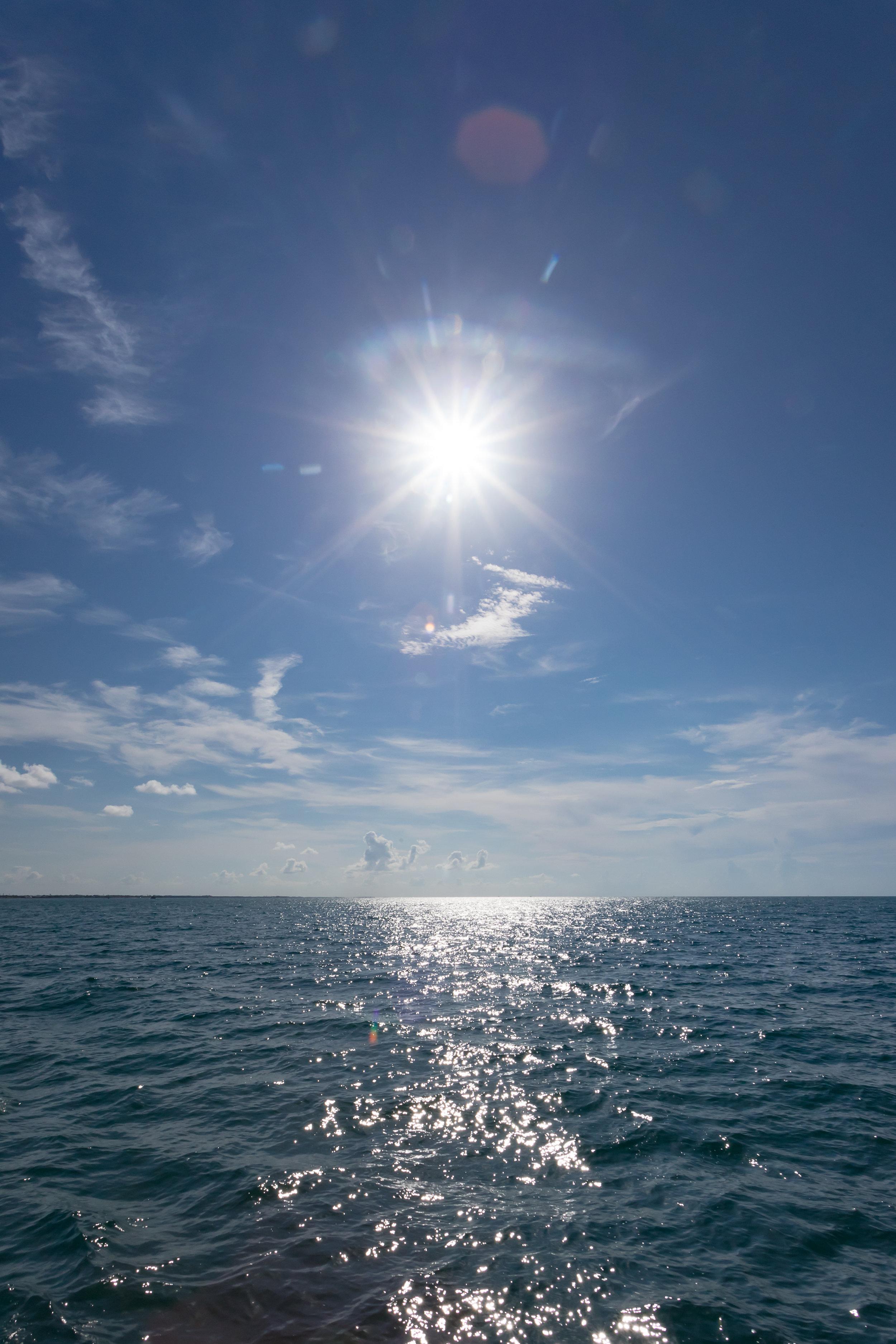 july 6, 2018  atlantic ocean - key west, florida