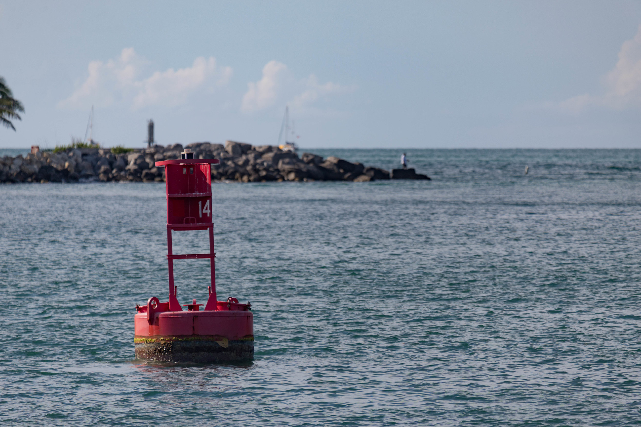 july 13, 2018  atlantic ocean - key west, florida