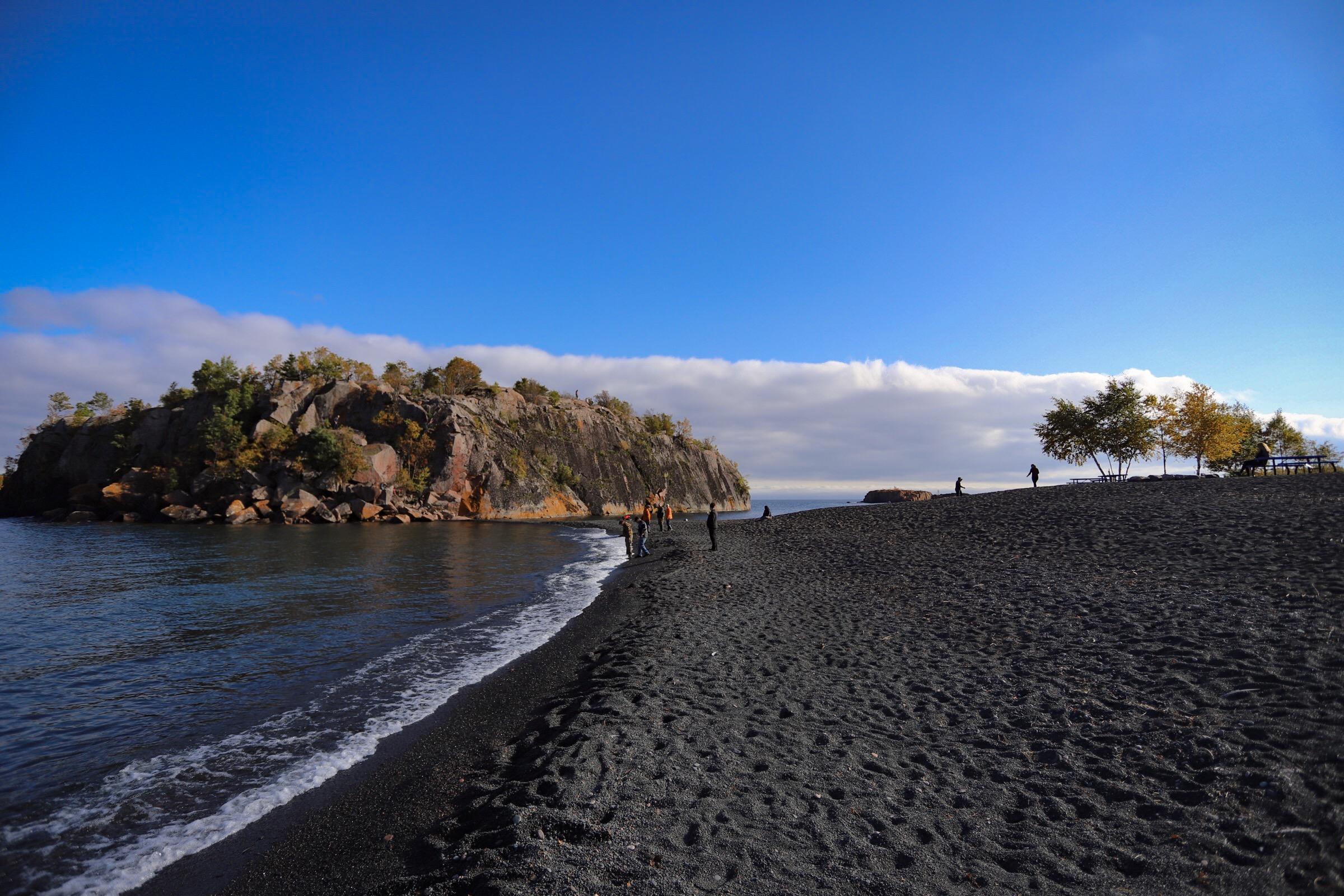october 7, 2017  onyx beach - silver bay, minnesota