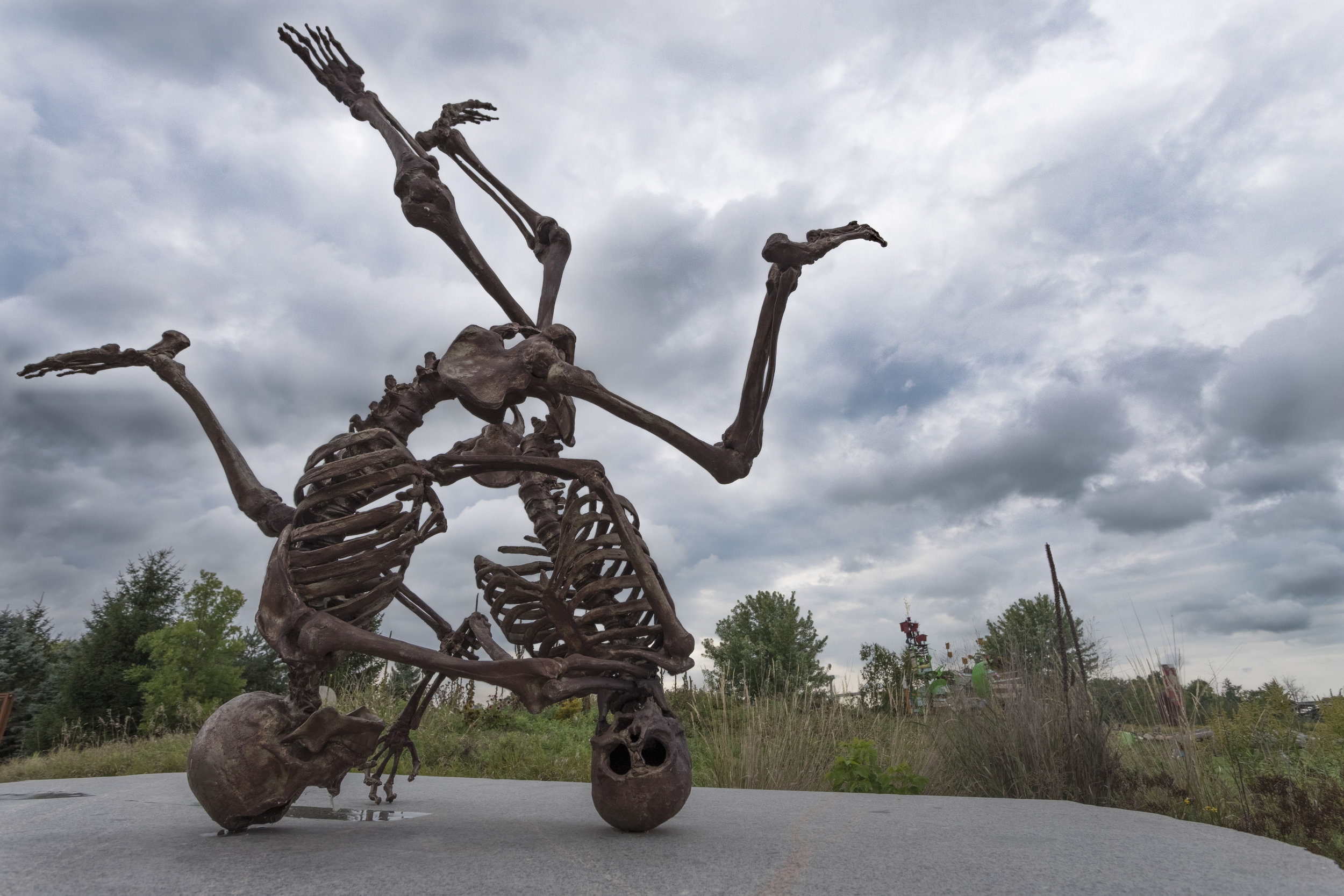 september 14, 2018  franconia sculpture garden - franconia, minnesota