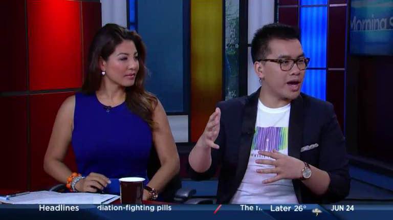 The Morning Show host Liem Vu in PRIDECODE.