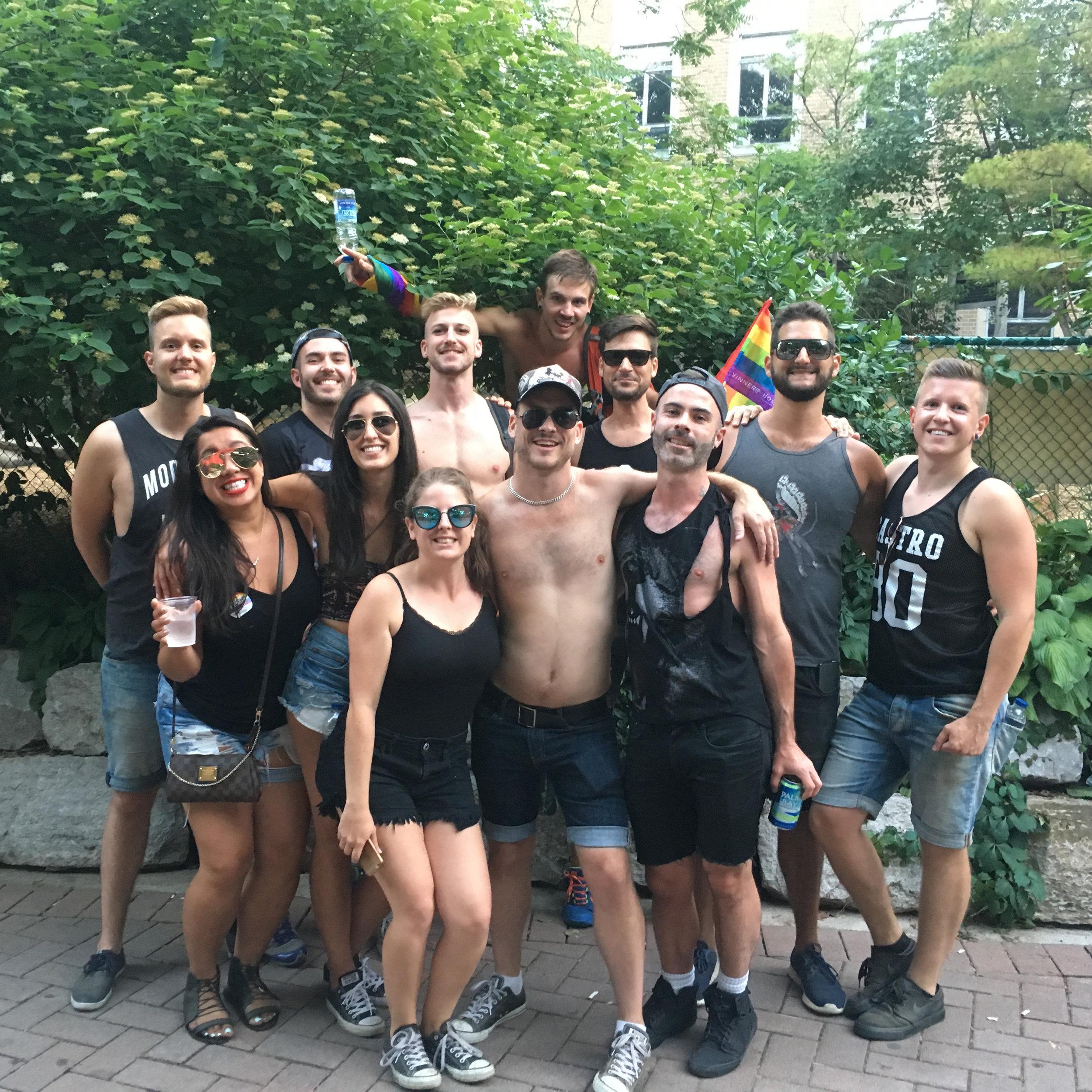 Toronto Pride Crew (2016)
