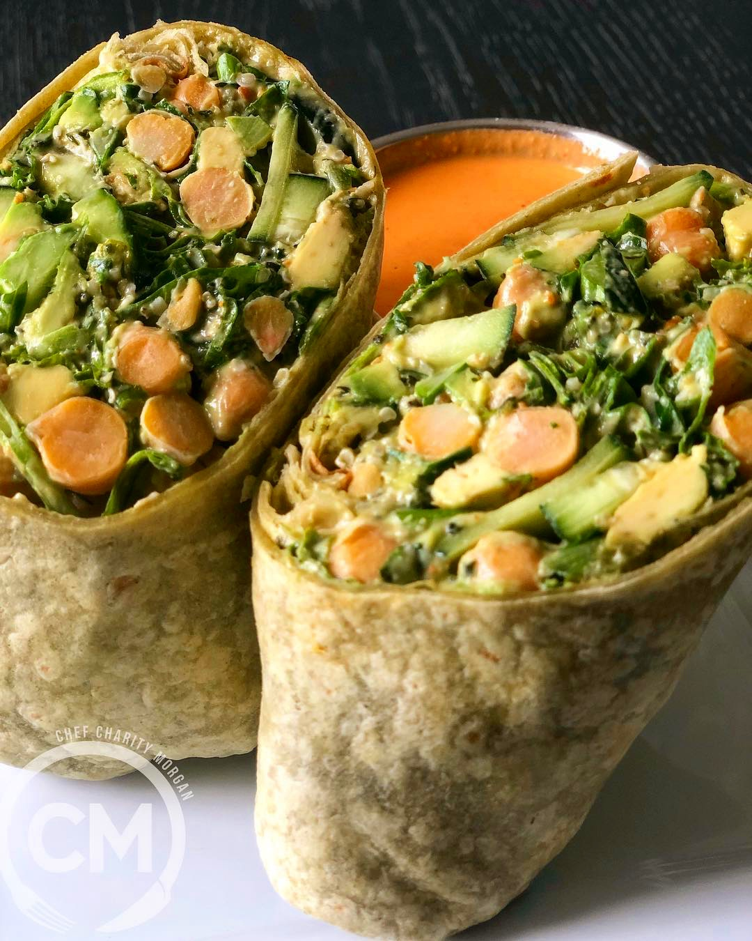 This simple  Nutrient Dense  wrap is a great lunch time fav…