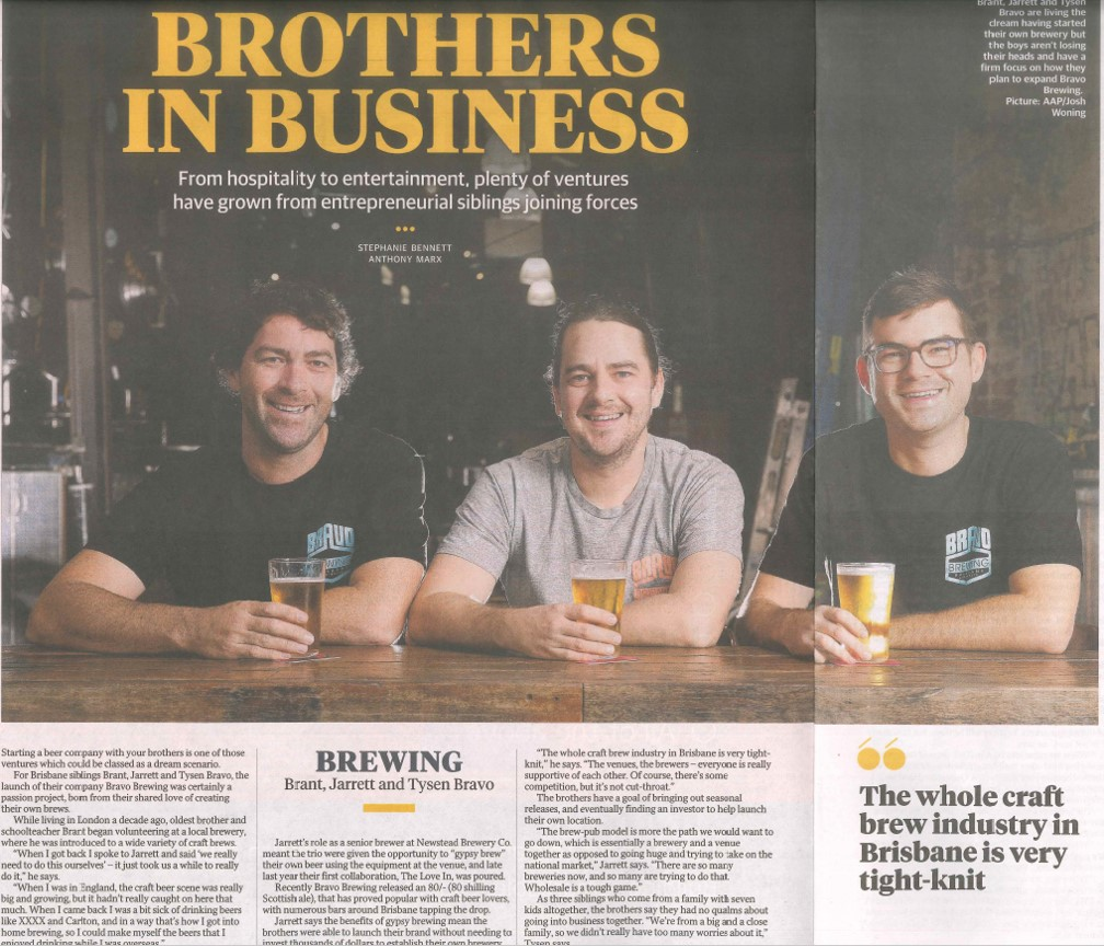 Featured in The Courier Mail: Queensland Business Monthly