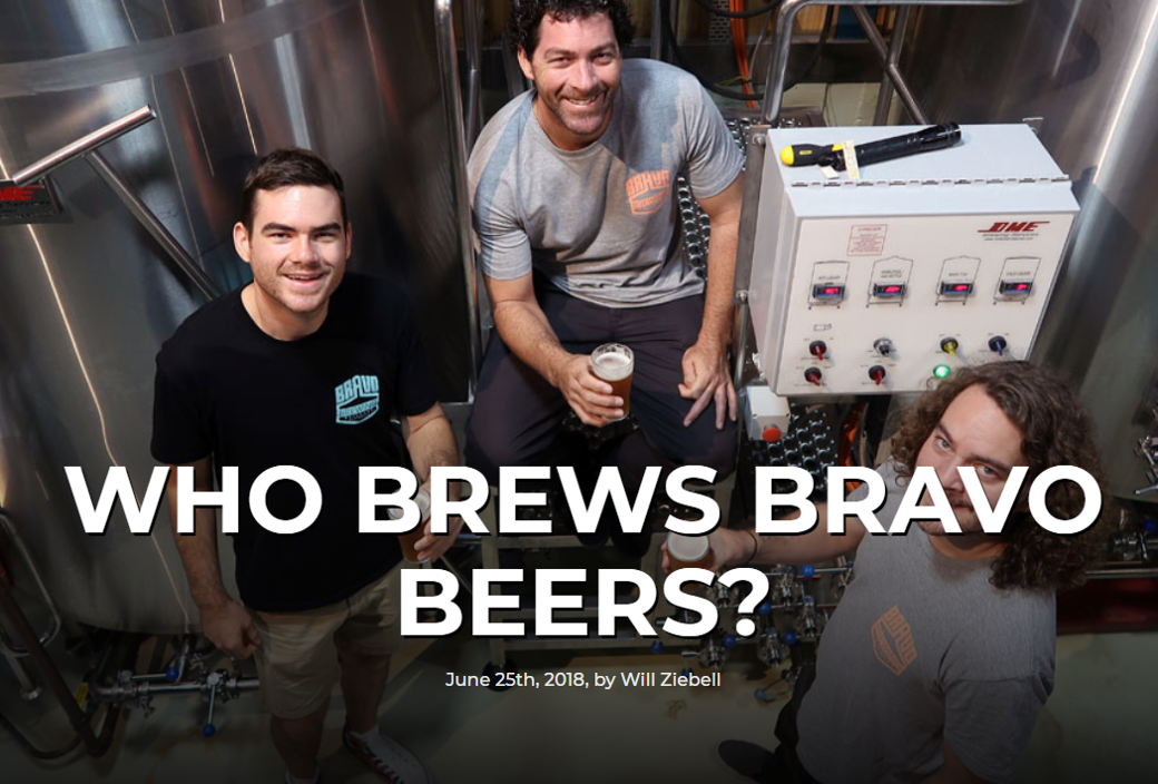 Featured in the Crafy Pint: Who Brews