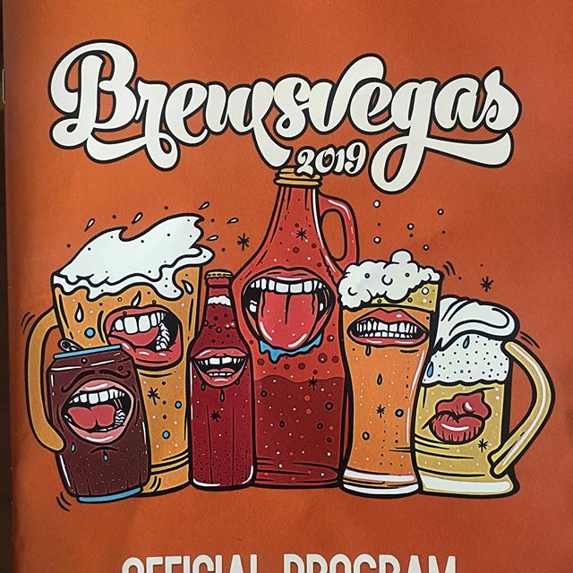 Excited to get our hands on the official program for @brewsvegas! We're stoked to bring you some brand new beers in two events this year:  1. the annual 'Tipsy with the Gypsy' gypsy brewers showcase on Saturday 16 March @brisbanebrewingco and  2. on Monday 18 March taking you on a 'Journey to the Maltiverse' with our mates from @brewtalbrewers using @voyager_craft_malt specialty malts @oi.mongrel  #brewsvegas19 #bravobrewing #craftbeerlife #gypsylife #tipsywiththegypsy #brisbanebeer #brisbanecraftbeer #craftbeernotcrapbeer #independentcraftbeer #bravoisachampion #rundworld