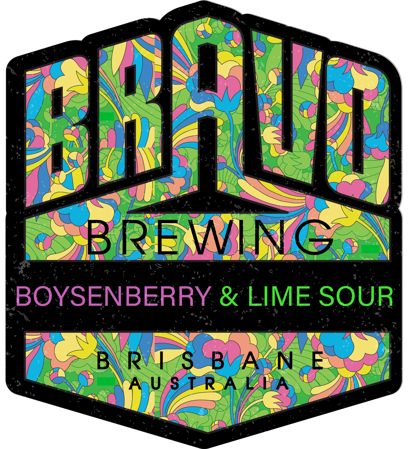 Boysenberry & Lime Sour -