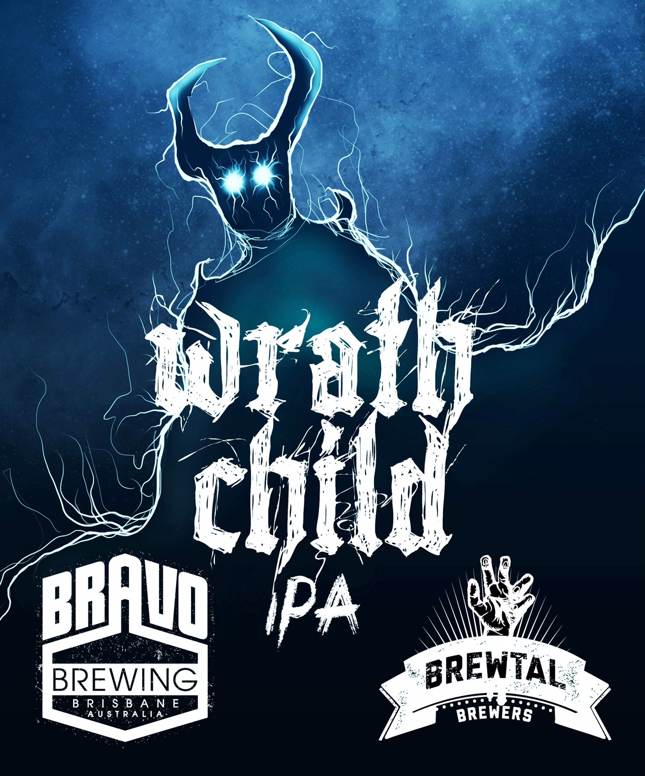 "Wrath Child English IPA - THE STORY: Wrath Child is our Brewsvegas 2019 collaboration with Brewtal Brewers. The beer is named after Iron Maidens 1981 song ""Wrath Child"" as a homage our love of Metal. It was brewed for Mongrel Kitchen's 'Journey to the Maltiverse' event which celebrates malt- the middle child of beer ingredients.THE FLAVOUR PROFILE: Wrath Child is a British- style, malt forward IPA. Brewed using specialty Ethiopian Black Barley and Heritage Ryecorn provided by Voyager Craft Malt, the beer is copper in colour with a slightly sweet biscuit flavour and subtle hoppy aroma which comes from a mix of US (new world) and British (Nobel) hops as well as whole New Zealand hop flowers."