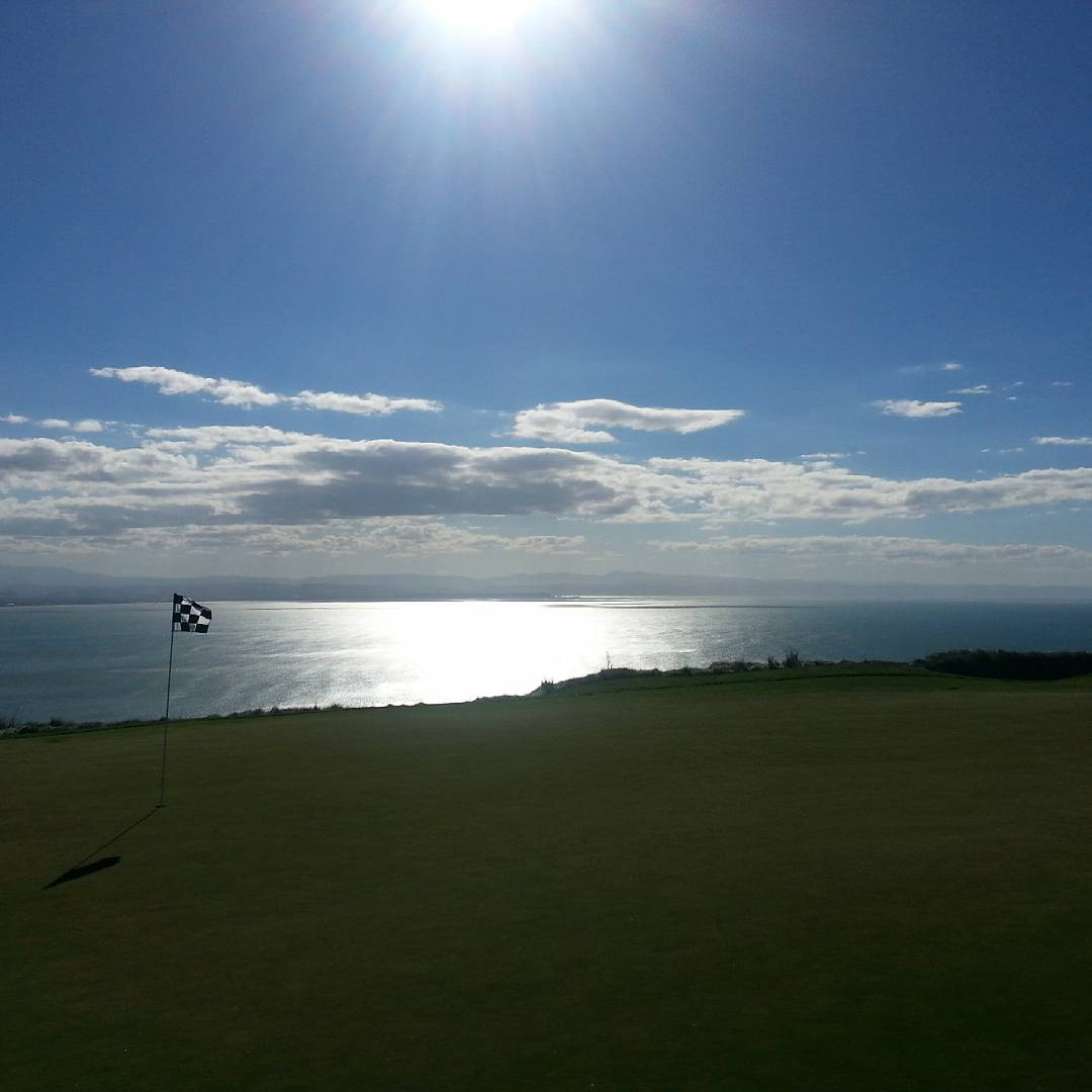 The view from cape kidnappers golf course!