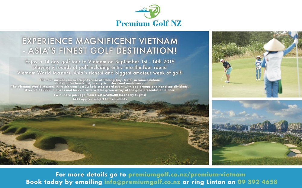 See our Advertisement in the Golfer Pacific magazine may edition