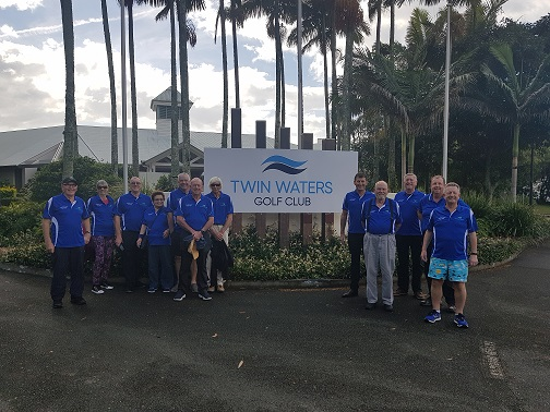 2019 Tour Group outside twin waters golf club