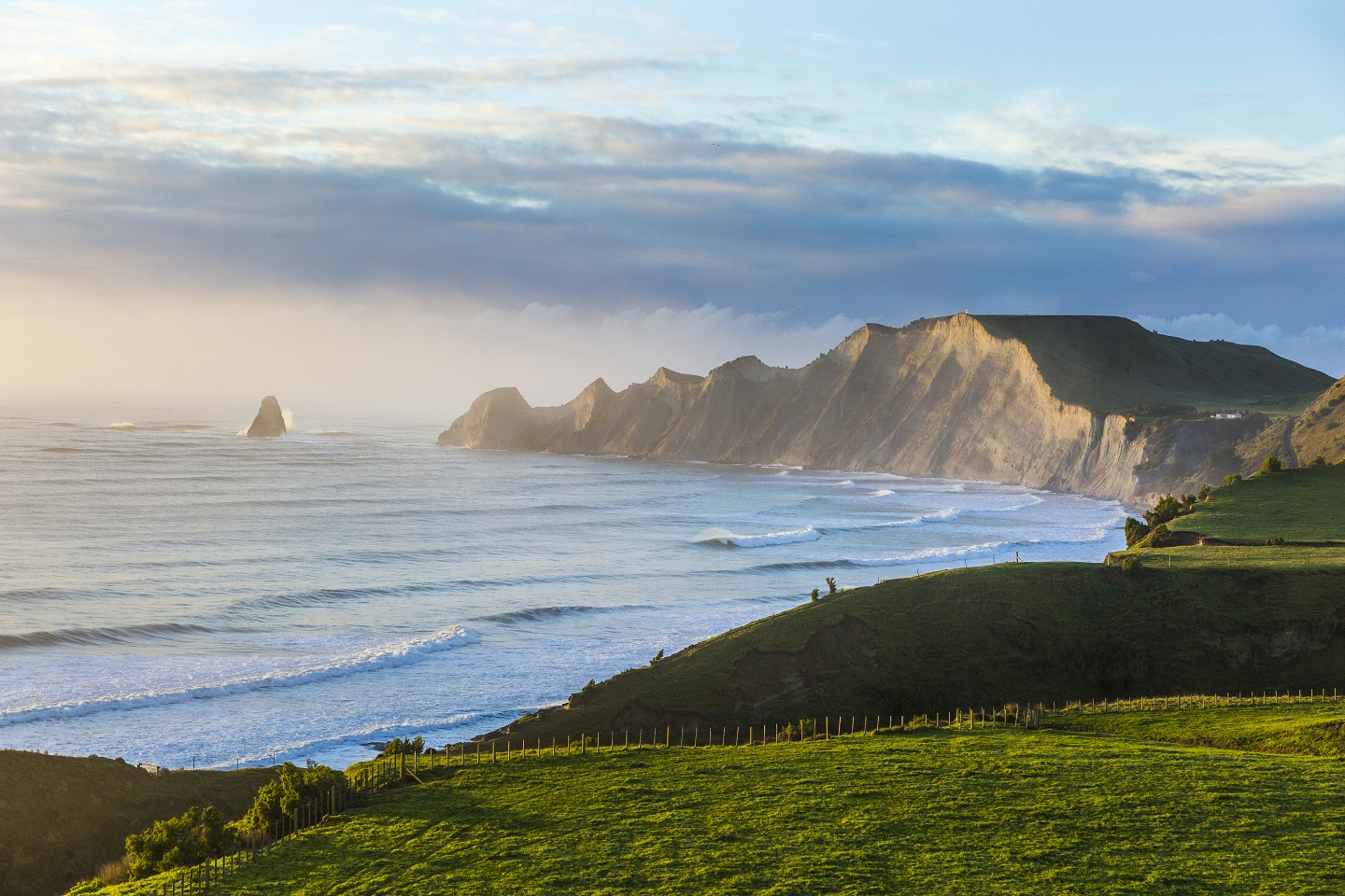 Cape Kidnappers Peninsula and Shark's Tooth.jpg