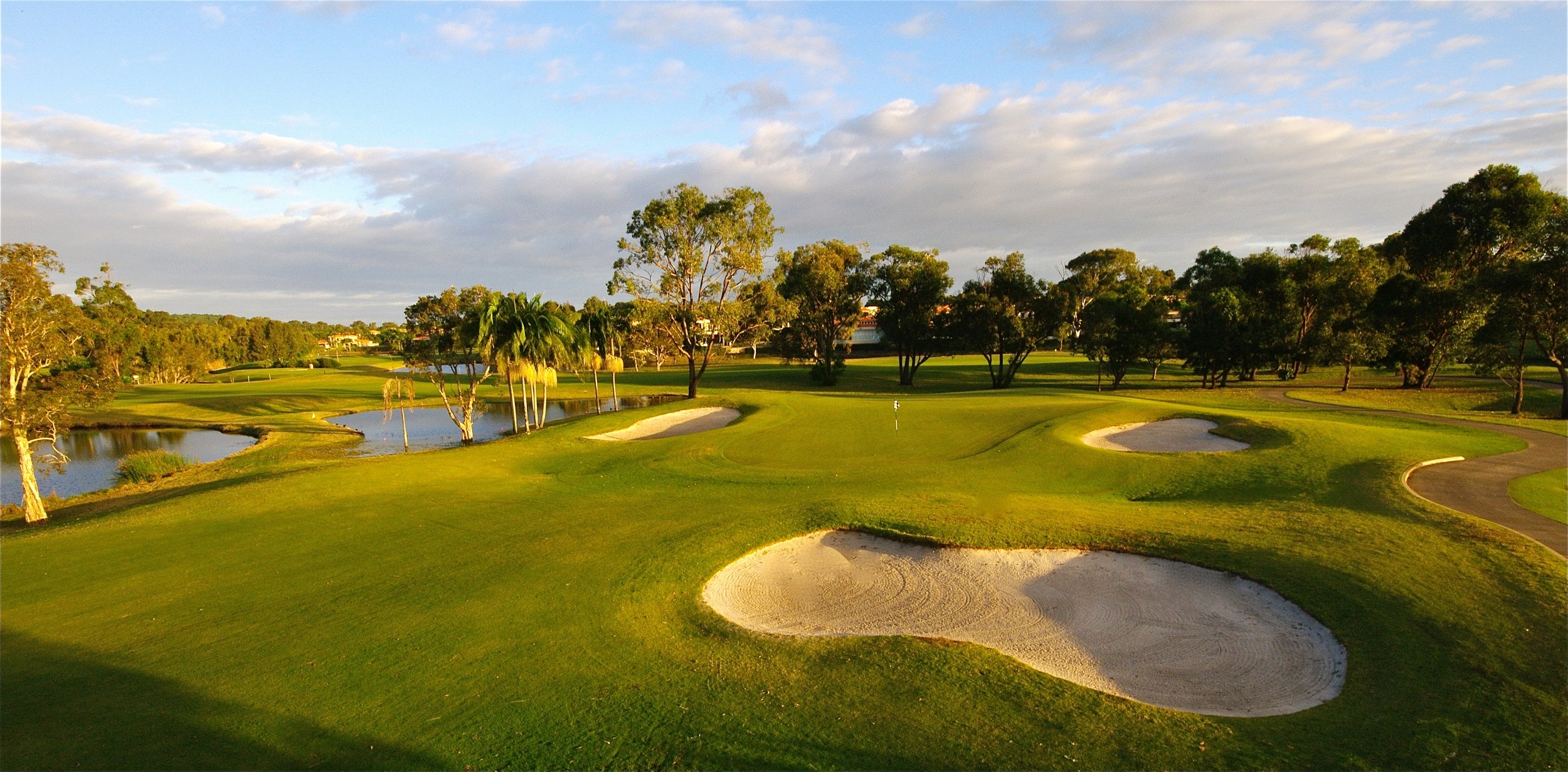 You could be playing noosa springs in july next year!