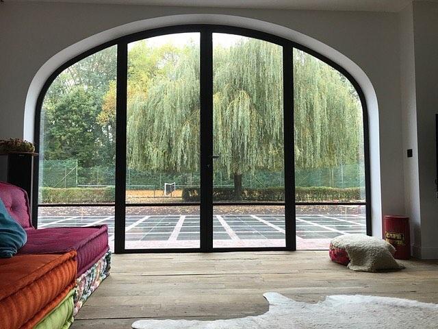 Renovatieproject residentie Zwijnaarde #Cosyhome #livingroom #withaview