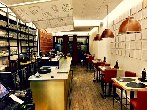Exclusive hamburger restaurant Brussels #renovation #promanys #horeca