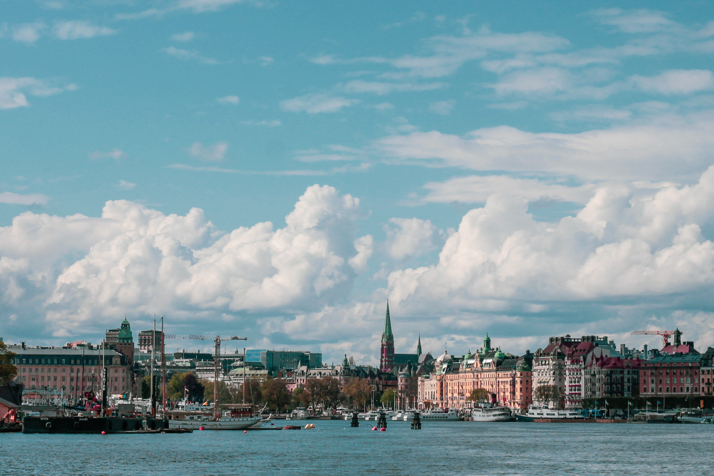 Views of Stockholm from Grona Lund