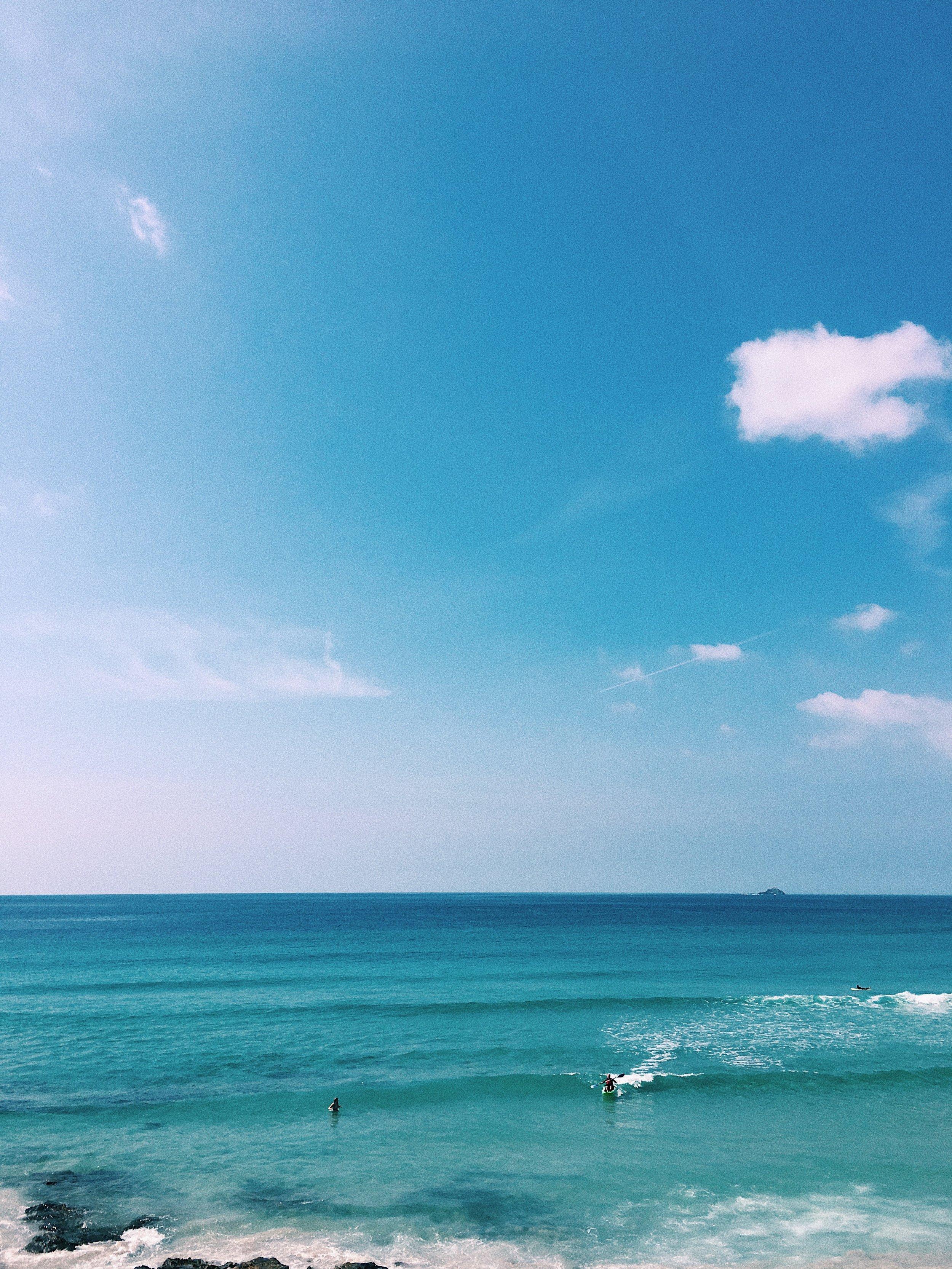 Surfing at Sennen Beach