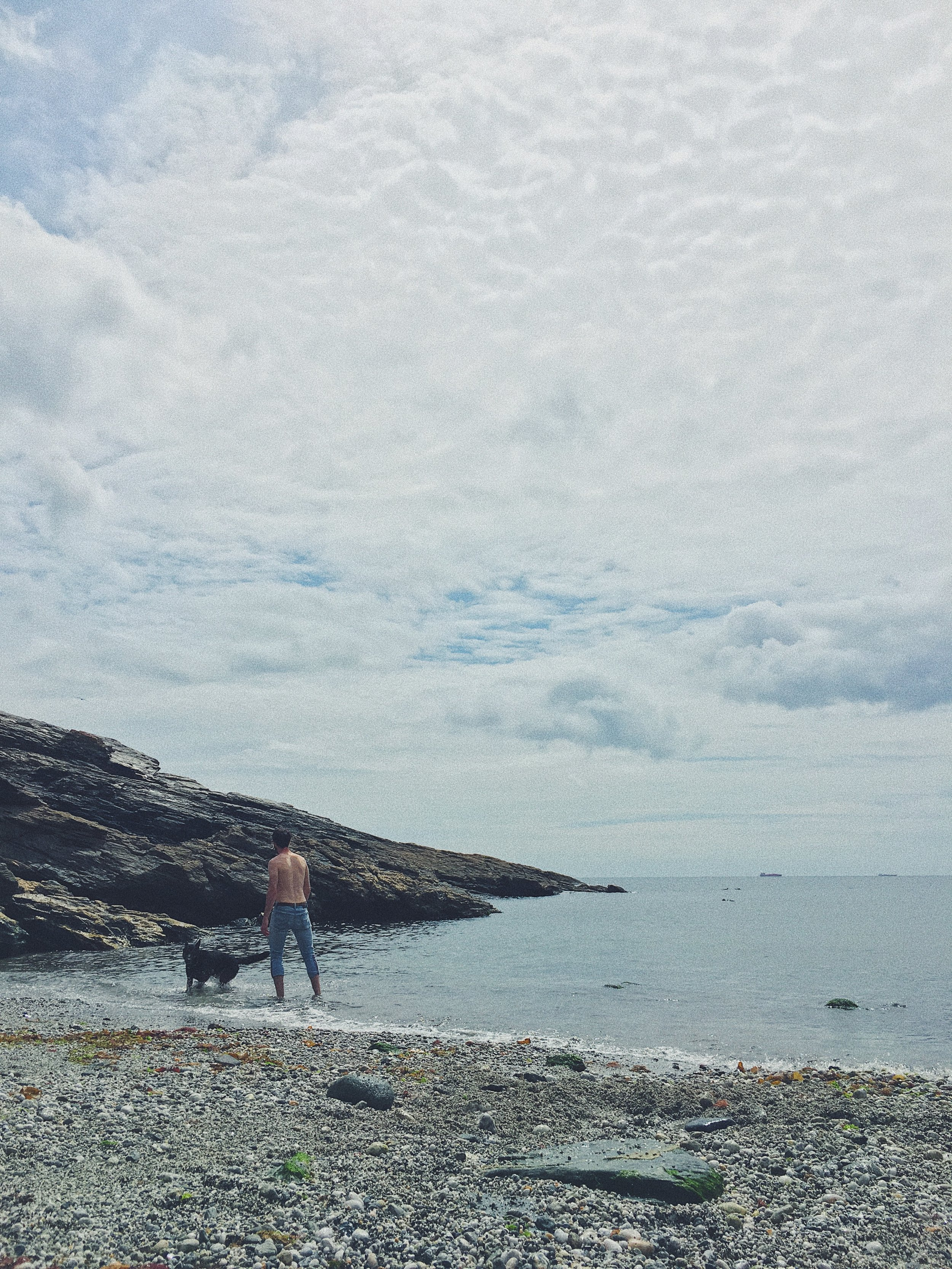 Downtime at Prussia Cove on The Lizard Peninsular