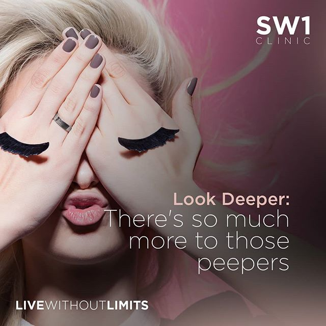 We've all heard of the popular adage about the eyes being the window to one's soul...but they actually so much more than that . . Clink on link in bio for the full article on how you can achieve younger looking eyes . . #sw1clinic #sw1spa #beauty #aesthetic #aesthetics #singapore #livewithoutlimits #skincare #eyes #prettyeyes