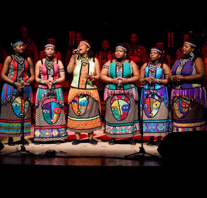 Soweto Gospel Choir. These people are actually Black.