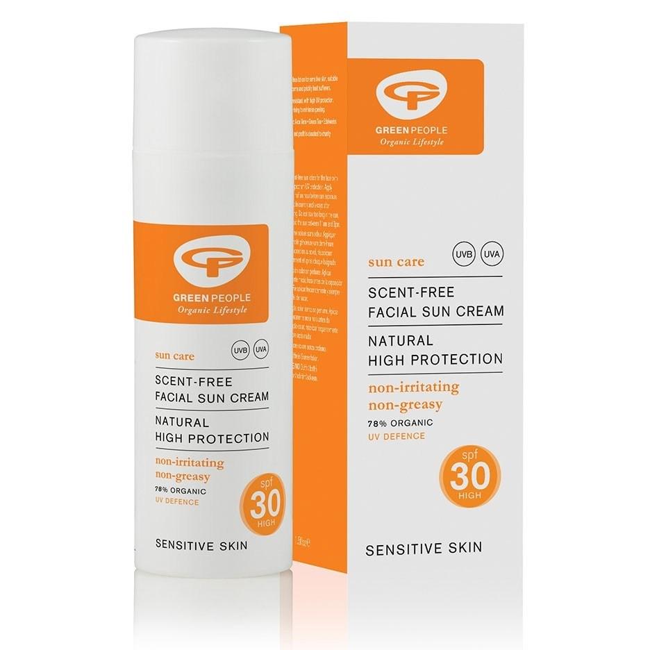 Facial Sun Cream SPF 30+, Green People