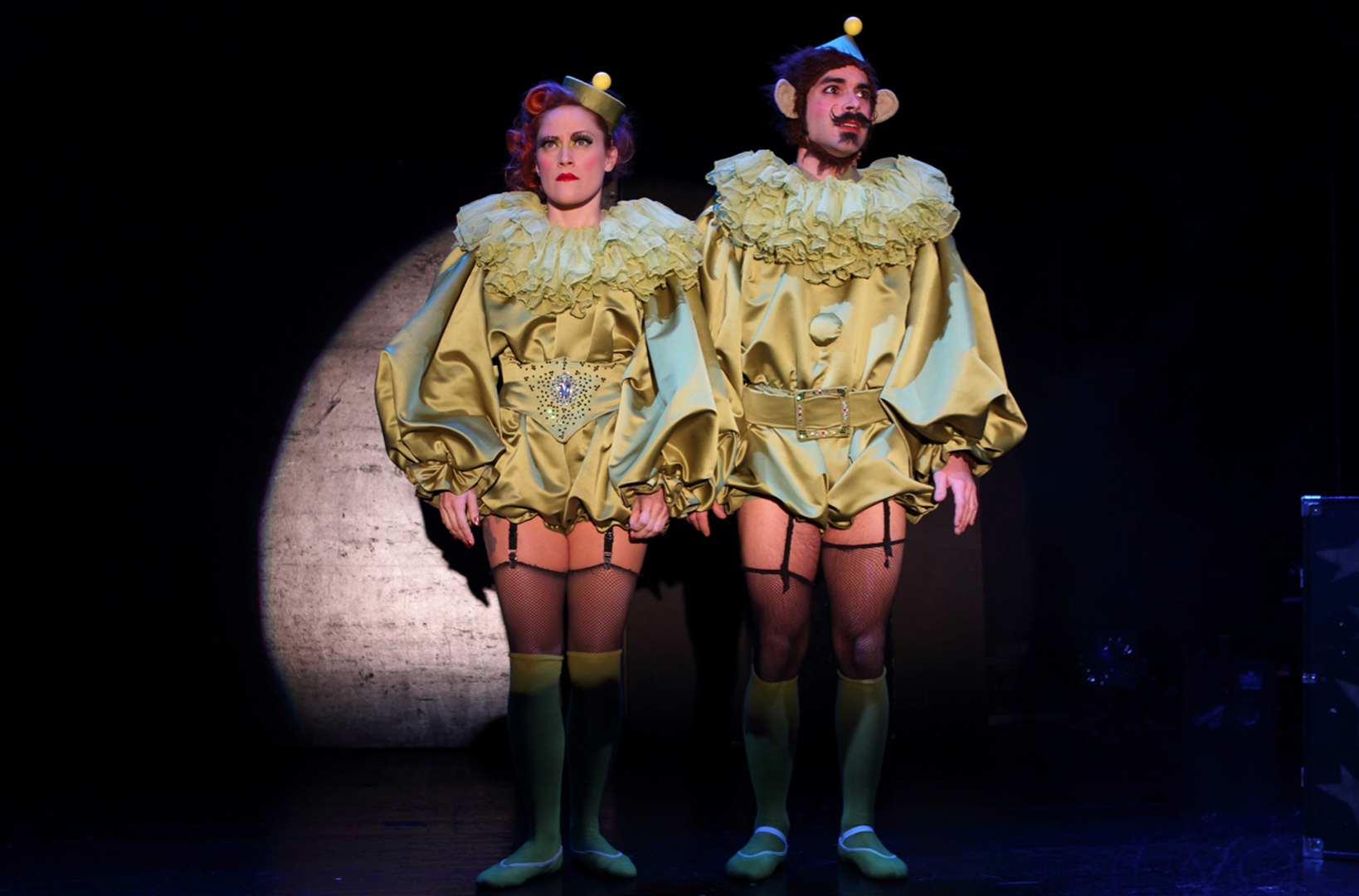 Trixie & Monkey Off Broadway at Ars Nova, New York, 2011, Photo by Allen Lee