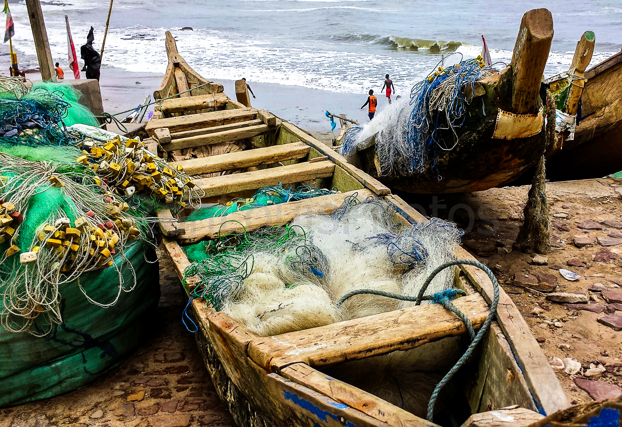 Boats and Nets.JPG
